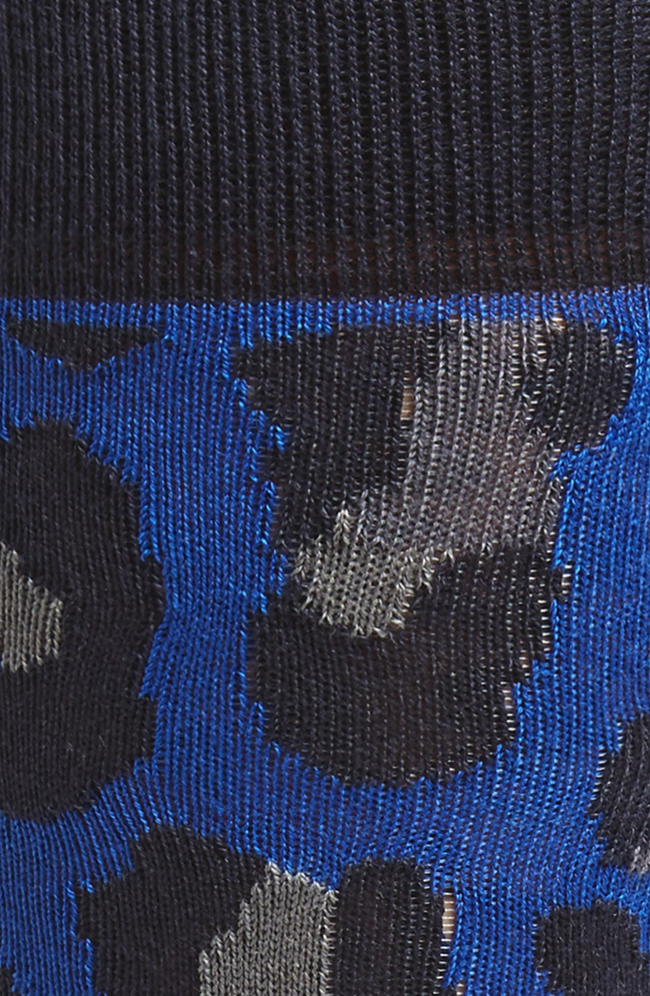 Camo Socks,                             Alternate thumbnail 2, color,                             Blue