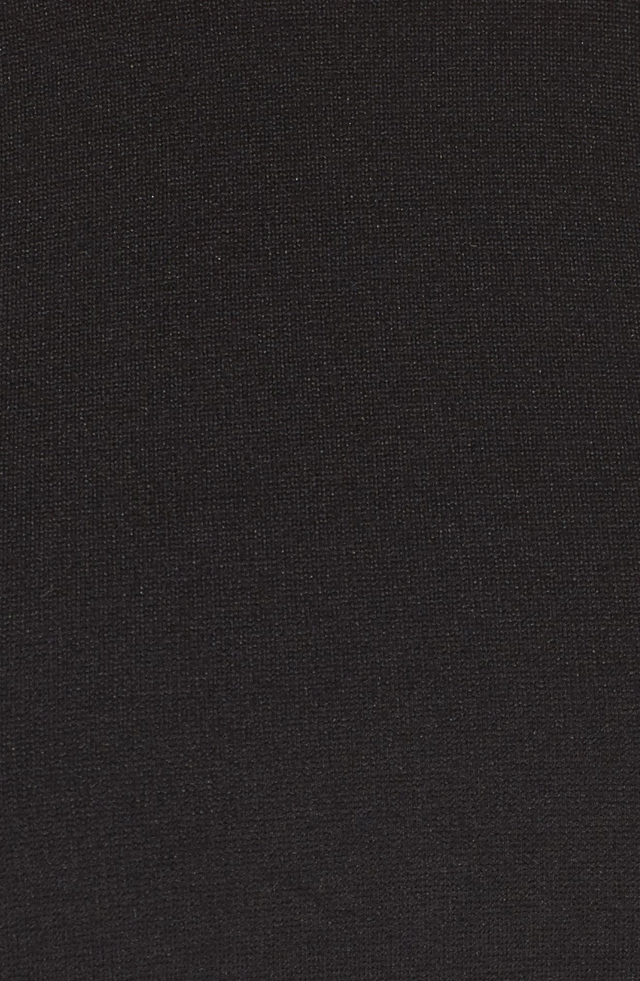 Alternate Image 5  - Lulus Endlessly Alluring Lace Trim Fit & Flare Dress