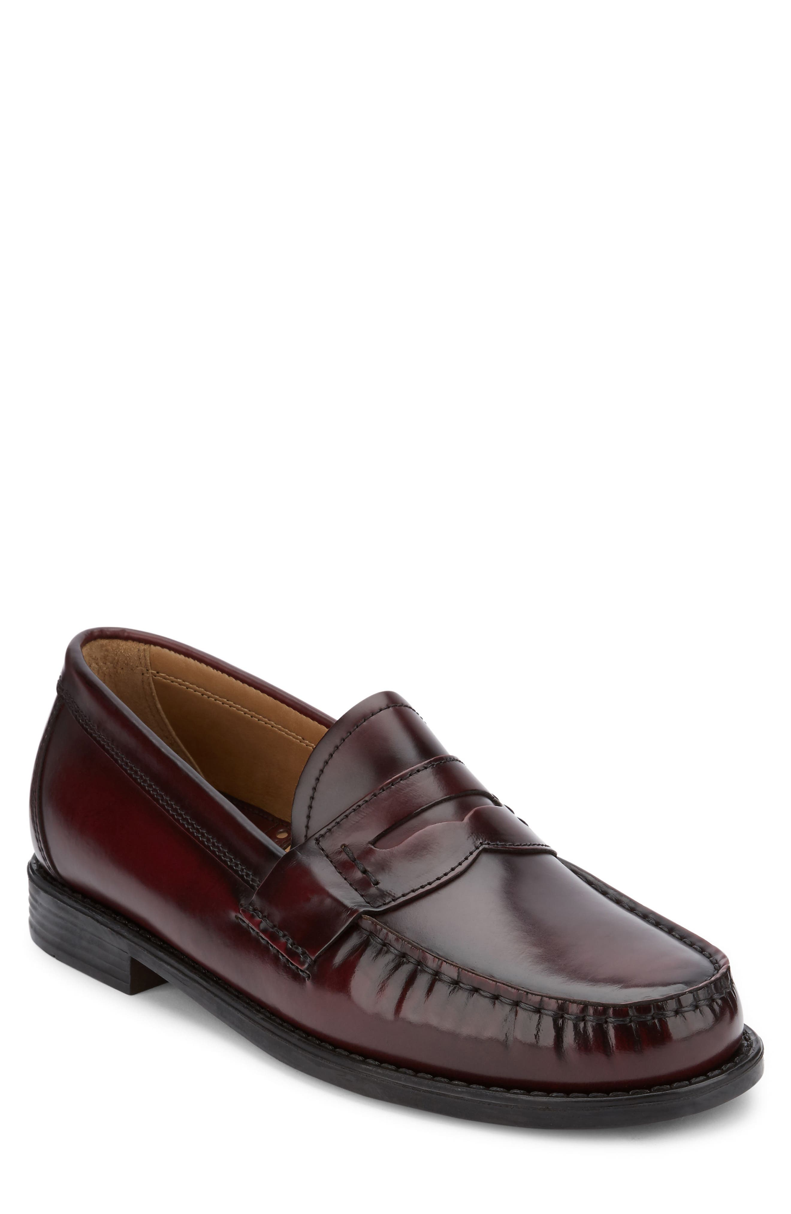 Bass & Co. Black Mens Loafers Roxbury 9 M Dress Casual Shoes Comfort