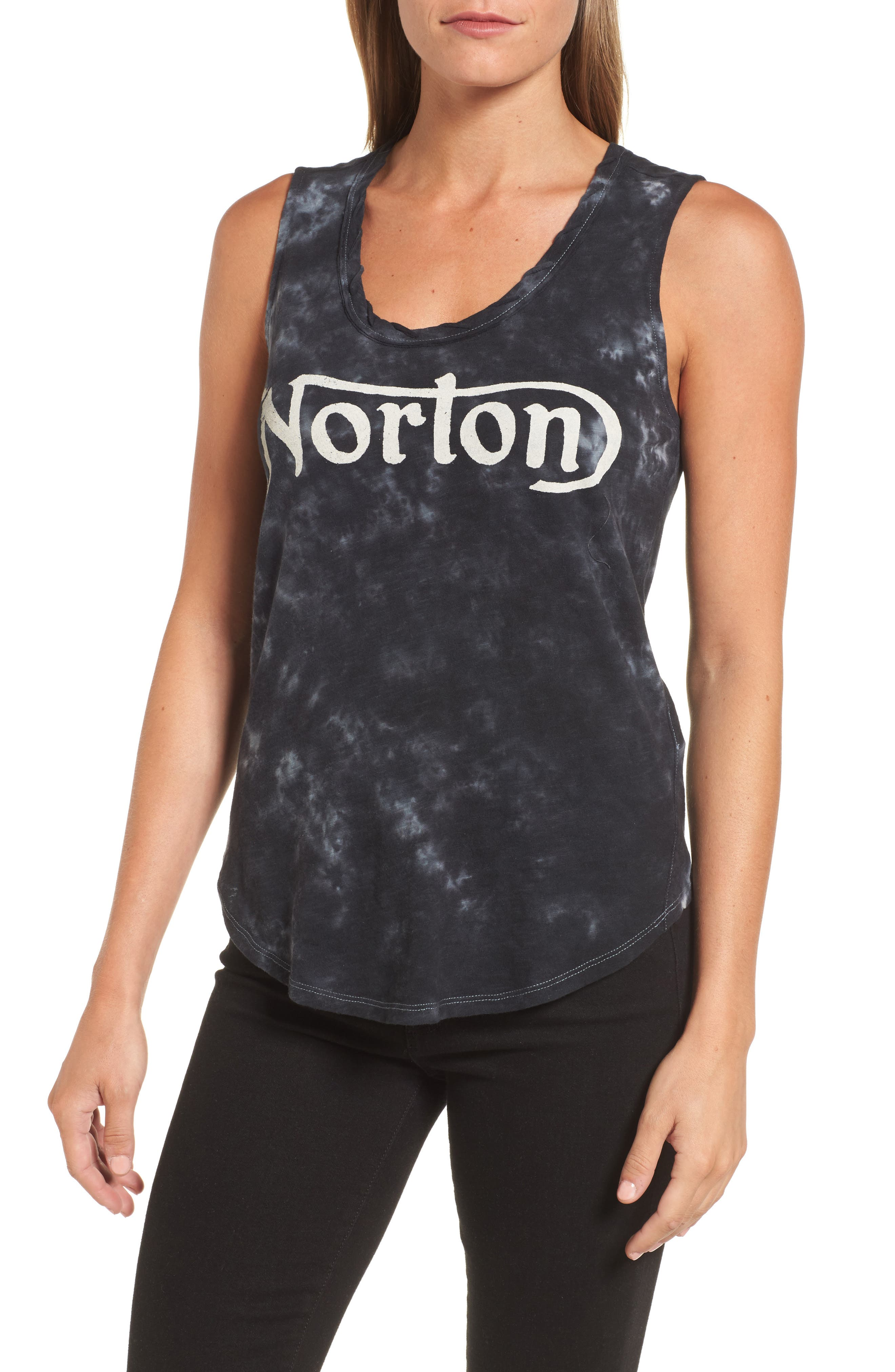 Alternate Image 1 Selected - Lucky Brand Norton Graphic Tank