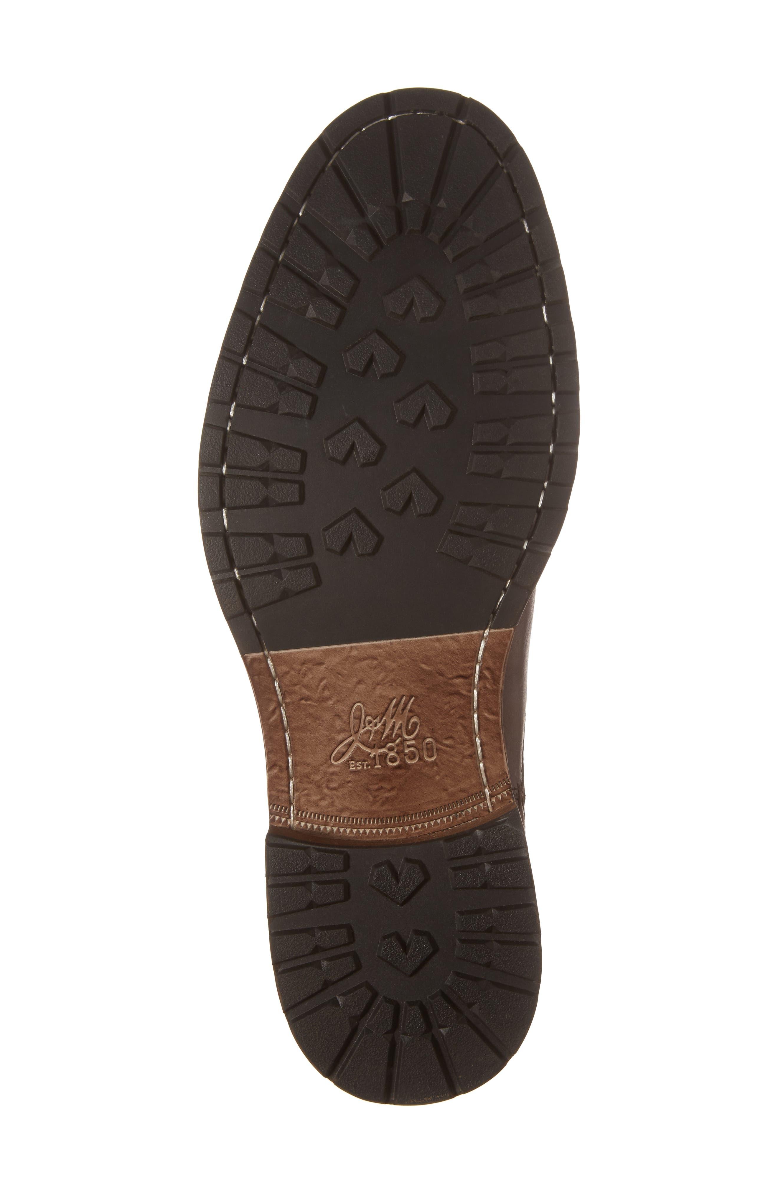 Myles Chelsea Boot,                             Alternate thumbnail 6, color,                             Mahogany Leather