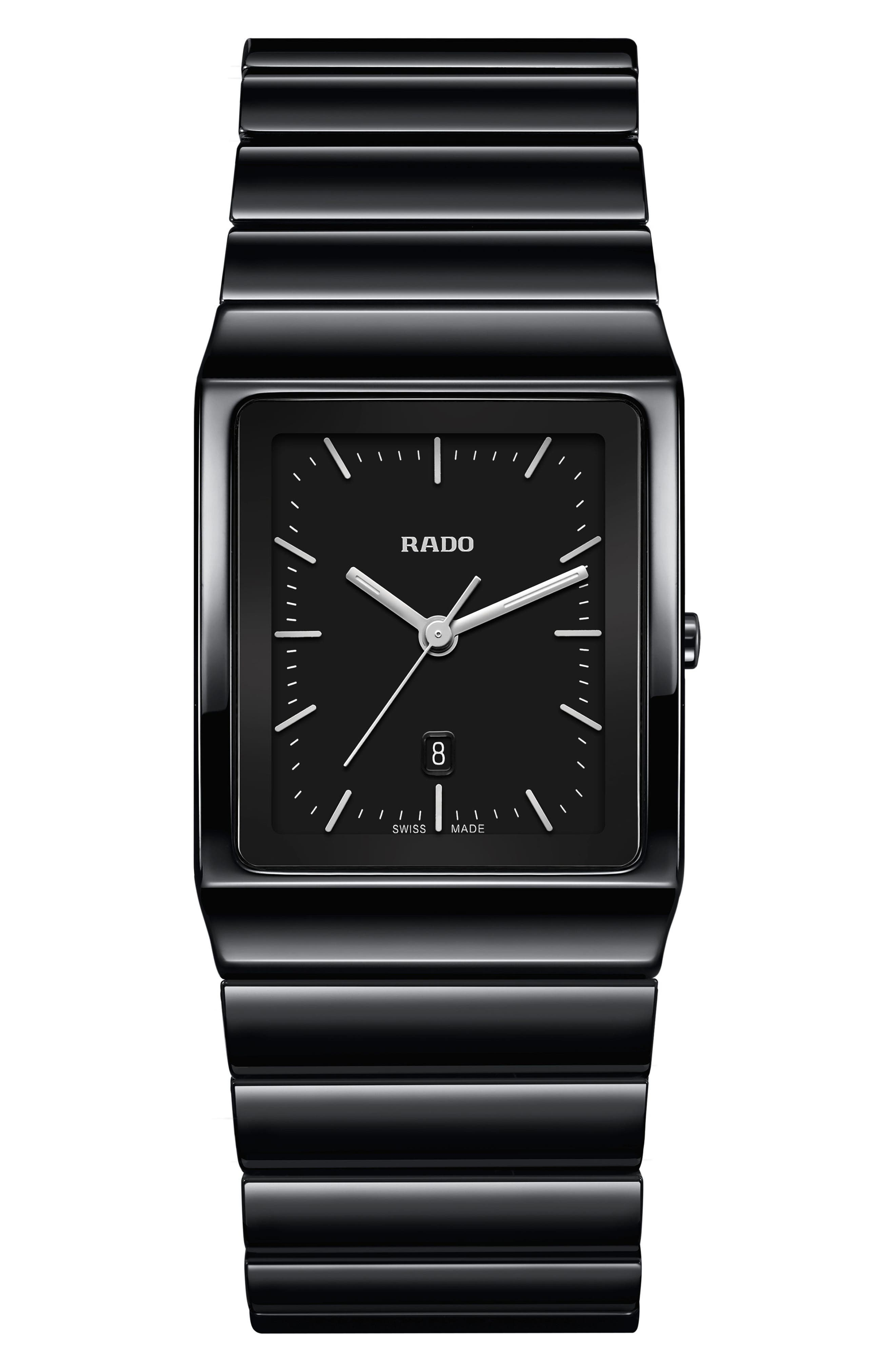 RADO Ceramica Bracelet Watch, 30mm x 41.7mm