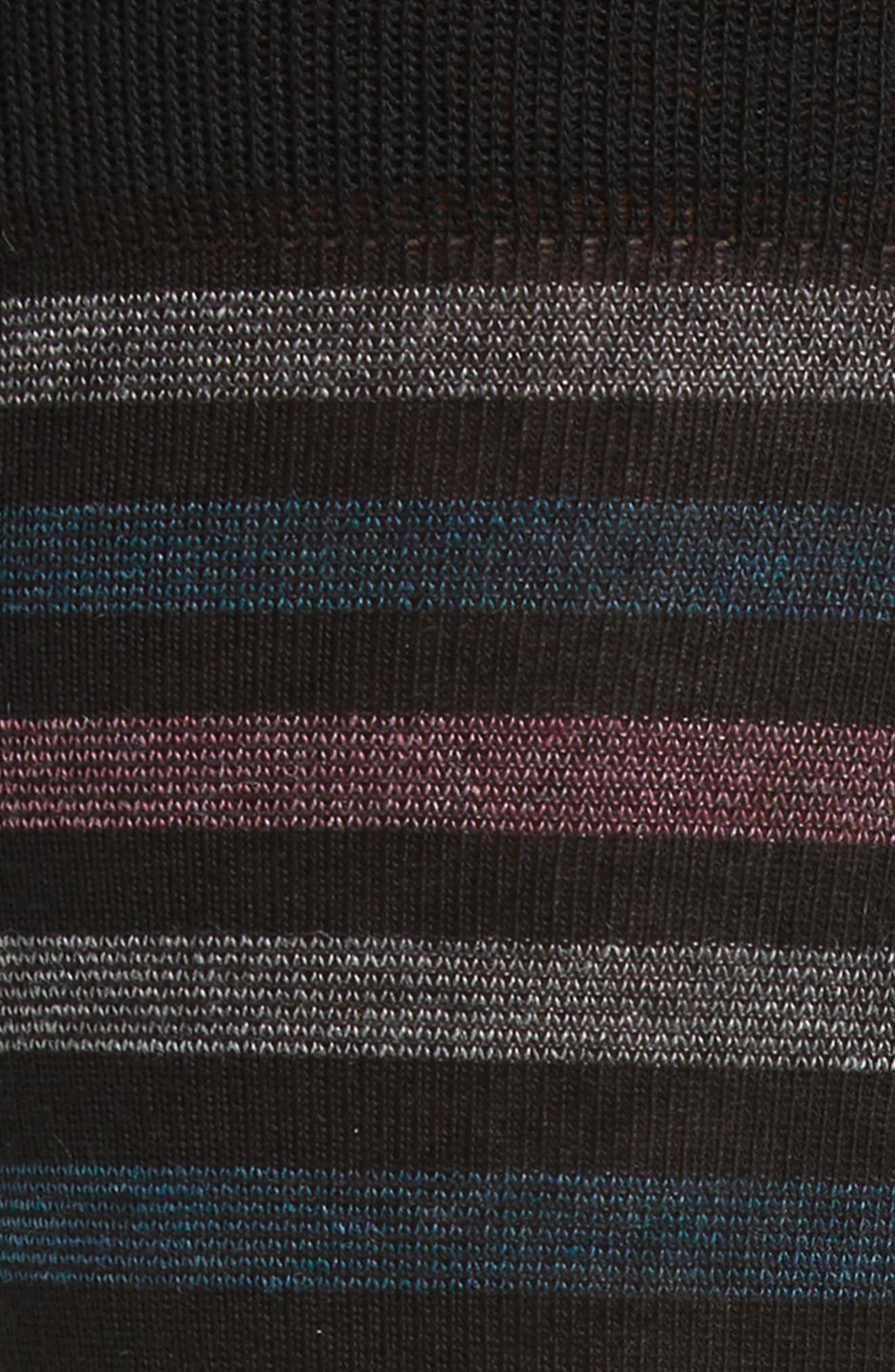 Alternate Image 2  - Nordstrom Men's Shop Multistripe Socks