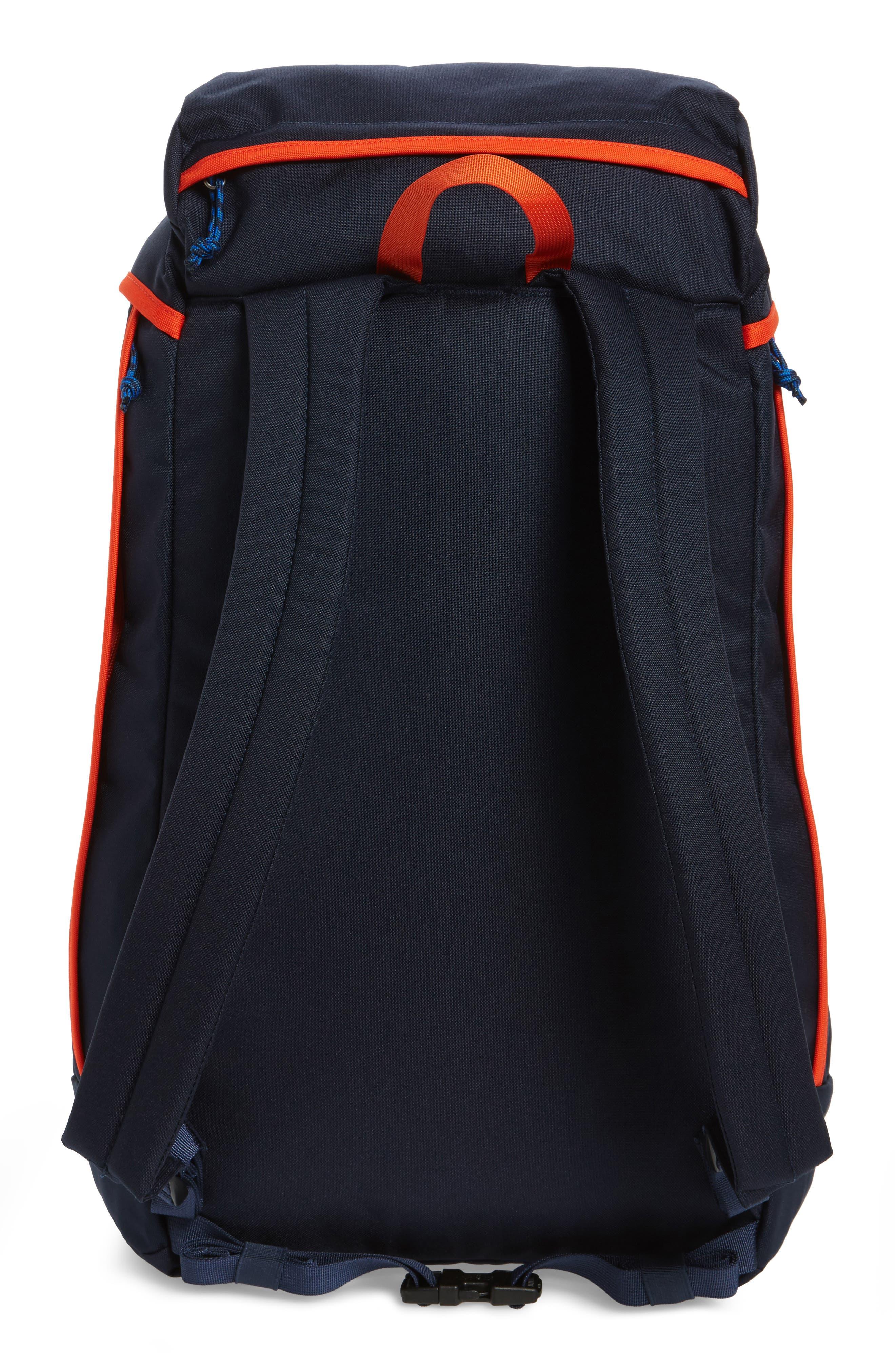 Arbor Grande 32-Liter Backpack,                             Alternate thumbnail 3, color,                             Navy Blue/ Paintbrush Red
