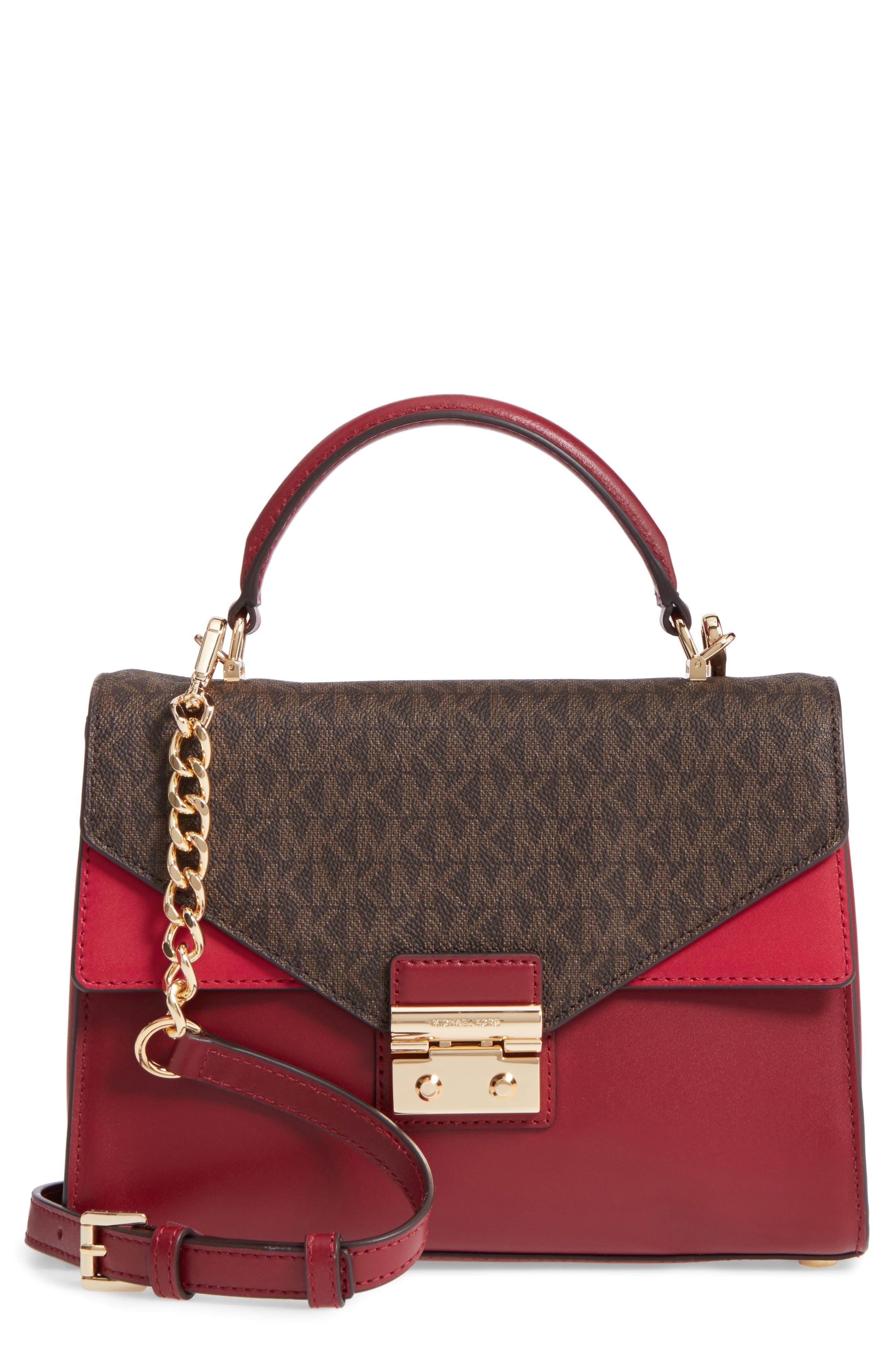 MICHAEL MICHAEL KORS Medium Sloan Leather Top Handle Bag