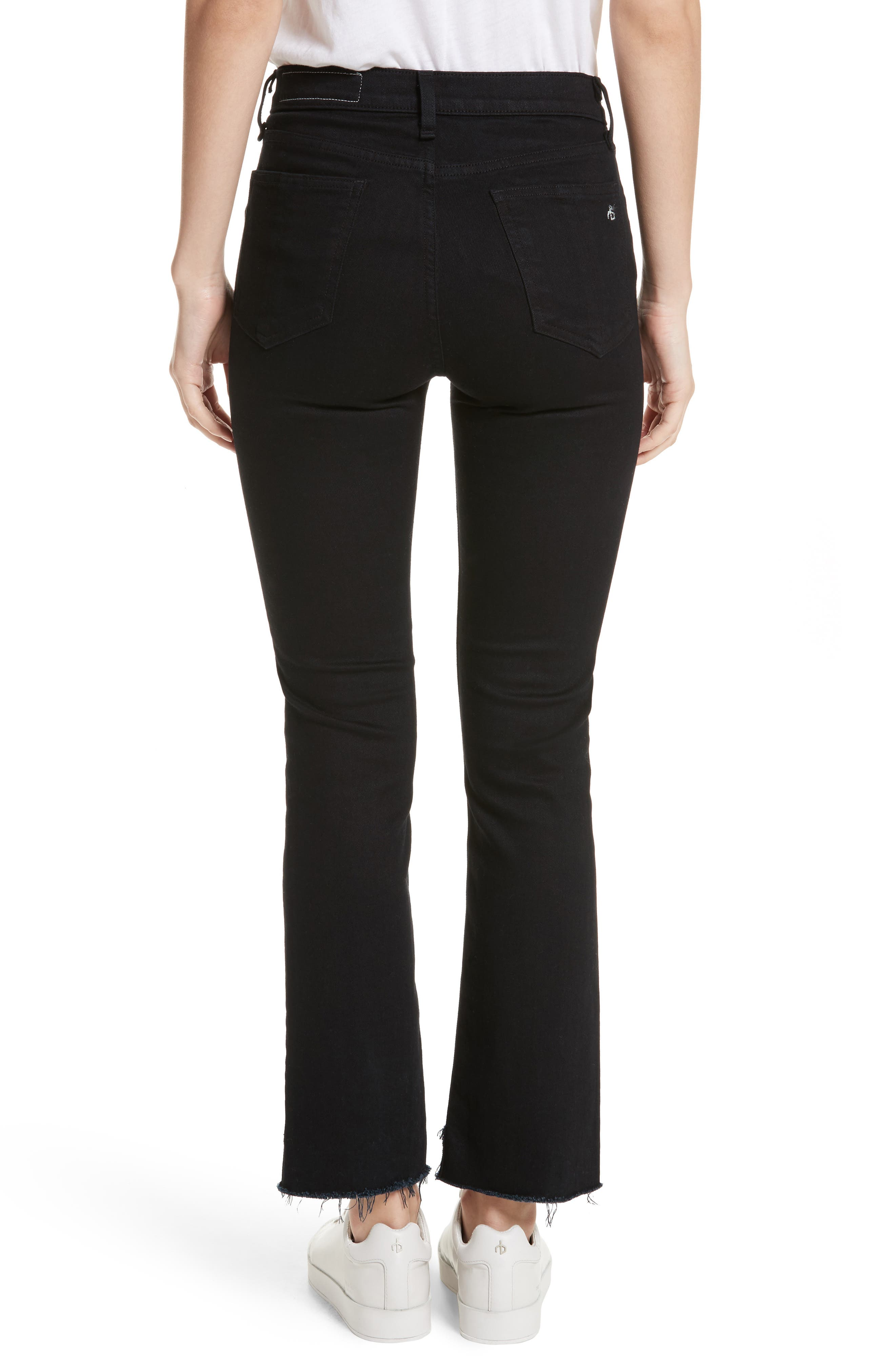 Alternate Image 2  - rag & bone/JEAN High Waist Stovepipe Jeans (Byan)