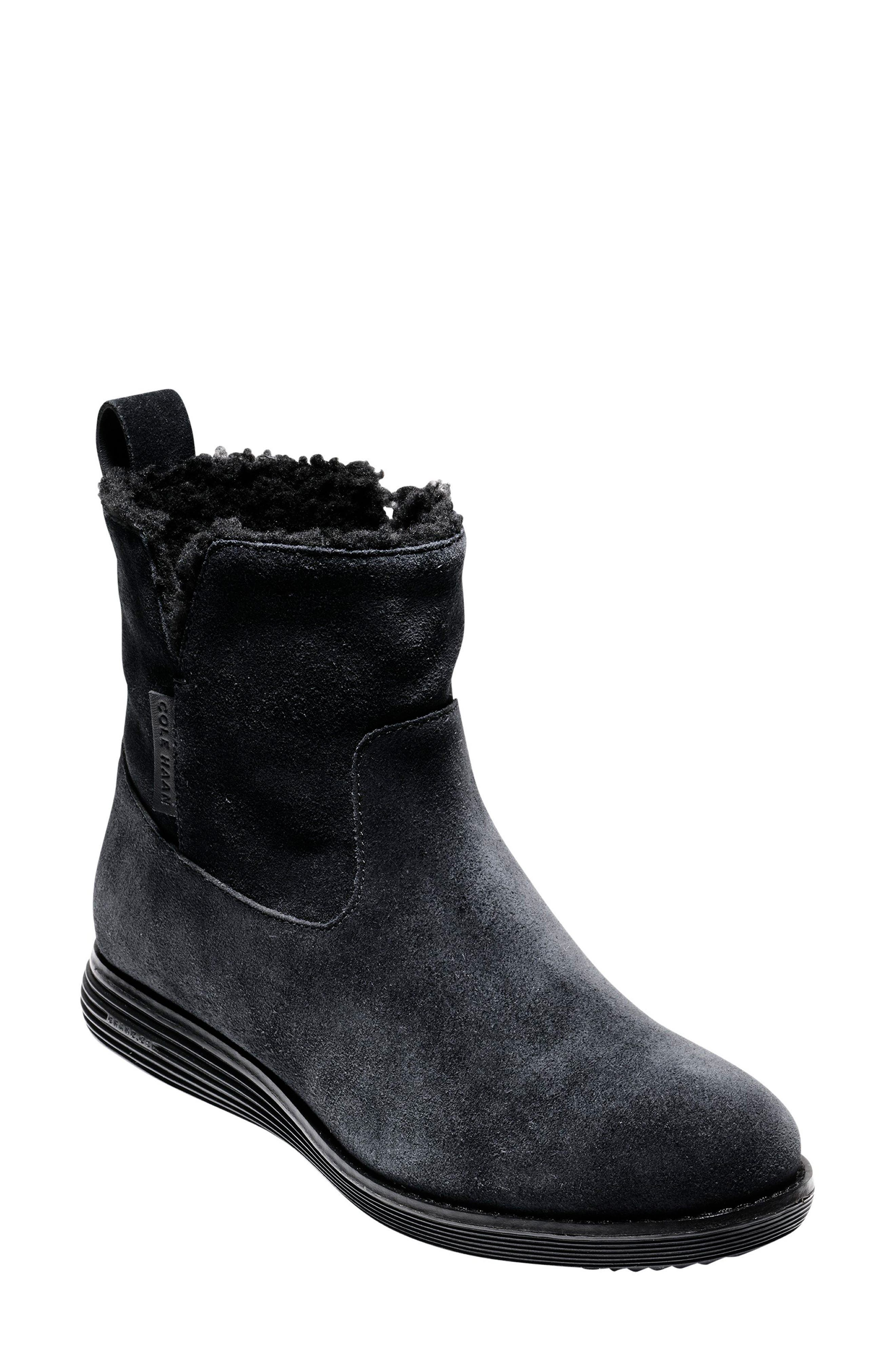 Original Grand Weatherproof Boot,                         Main,                         color, Black Suede