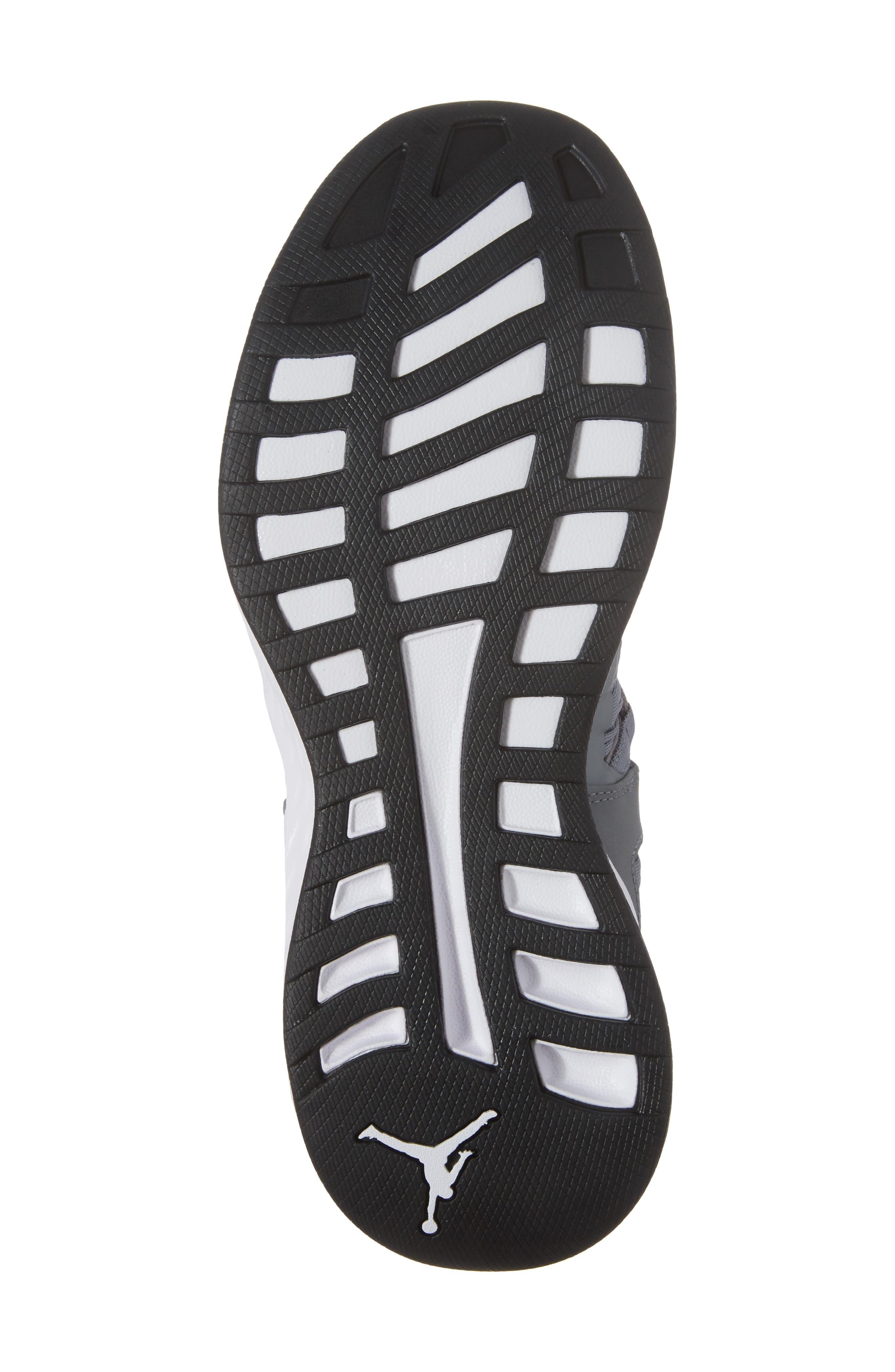 Jordan Formula 23 Low Sneaker,                             Alternate thumbnail 6, color,                             Cool Grey/ White/ Black