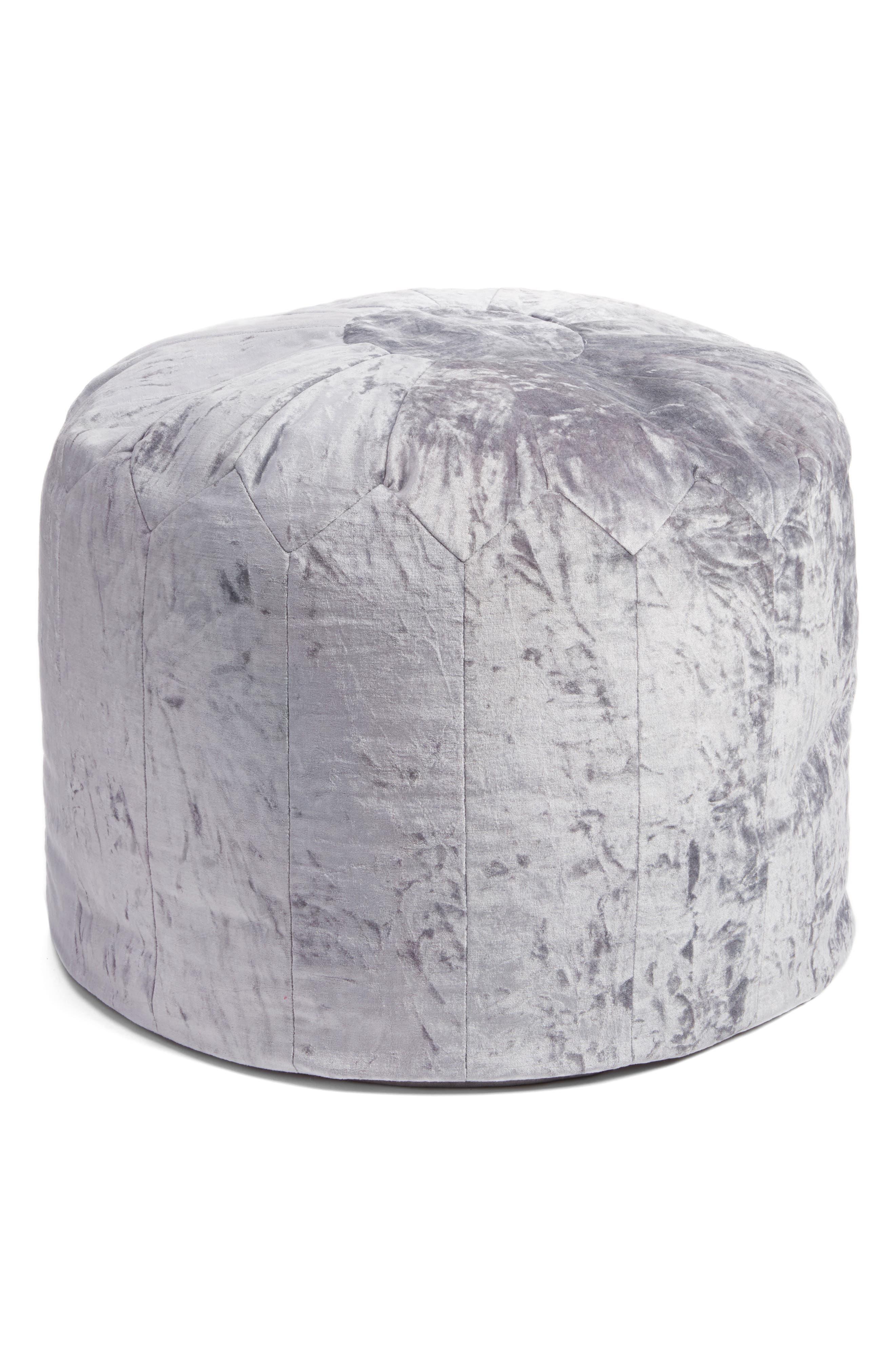 Beautiful Nordstrom At Home Shimmer Velvet Pouf