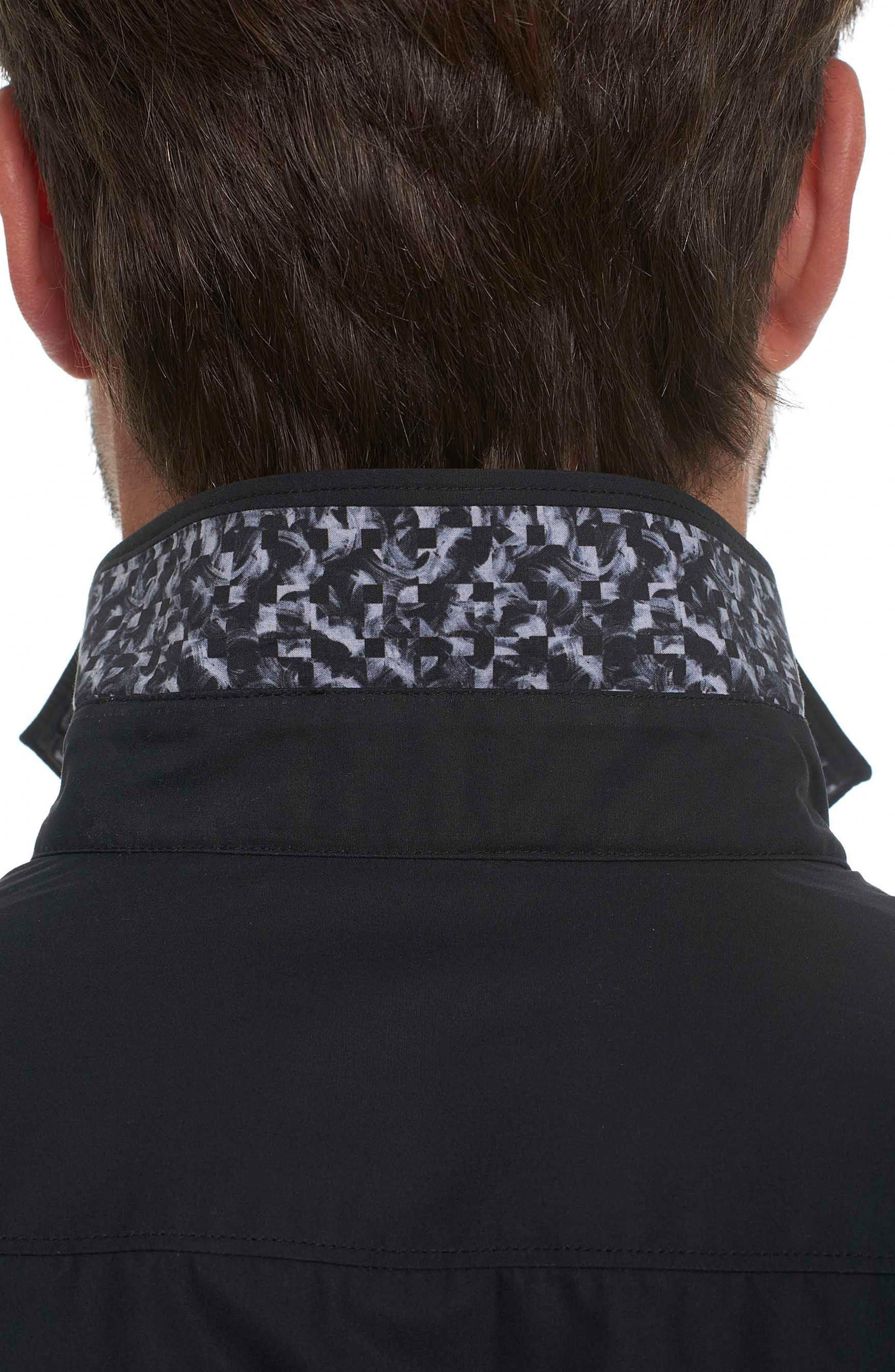 Alternate Image 5  - Robert Graham Onyx Classic Fit Embroidered Sport Shirt