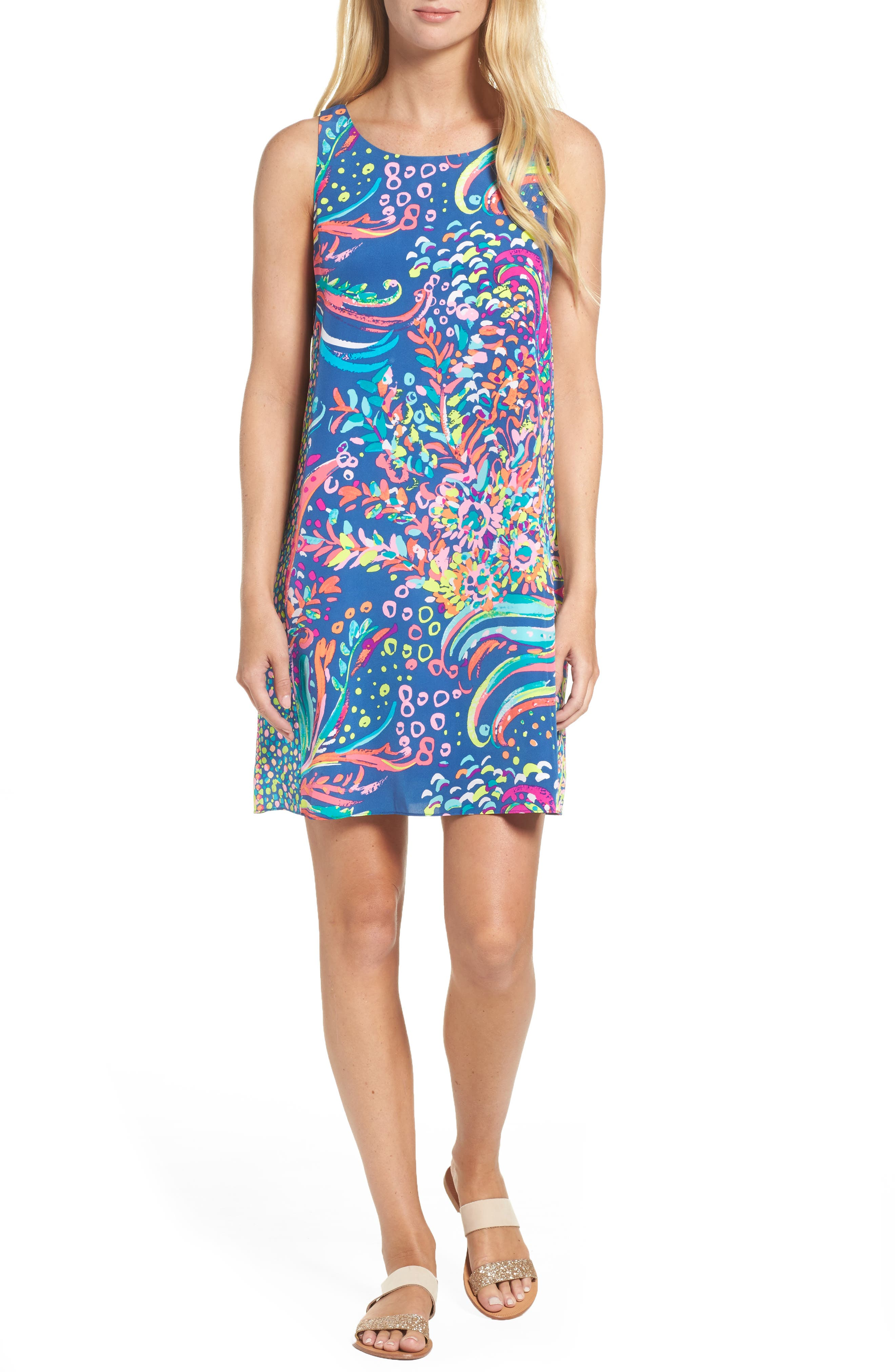 Alternate Image 1 Selected - Lilly Pulitzer® Jackie Silk Shift Dress