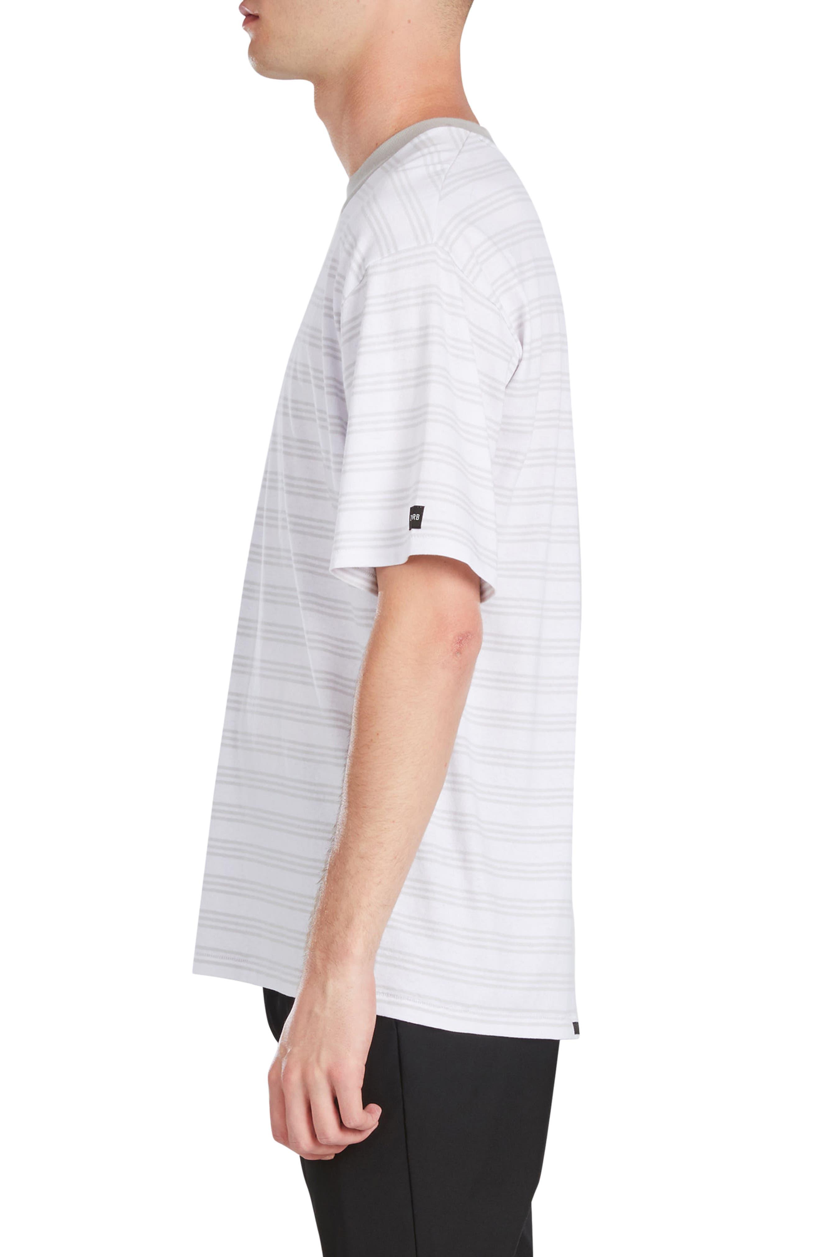 Alternate Image 3  - ZANEROBE Box Stripe T-Shirt