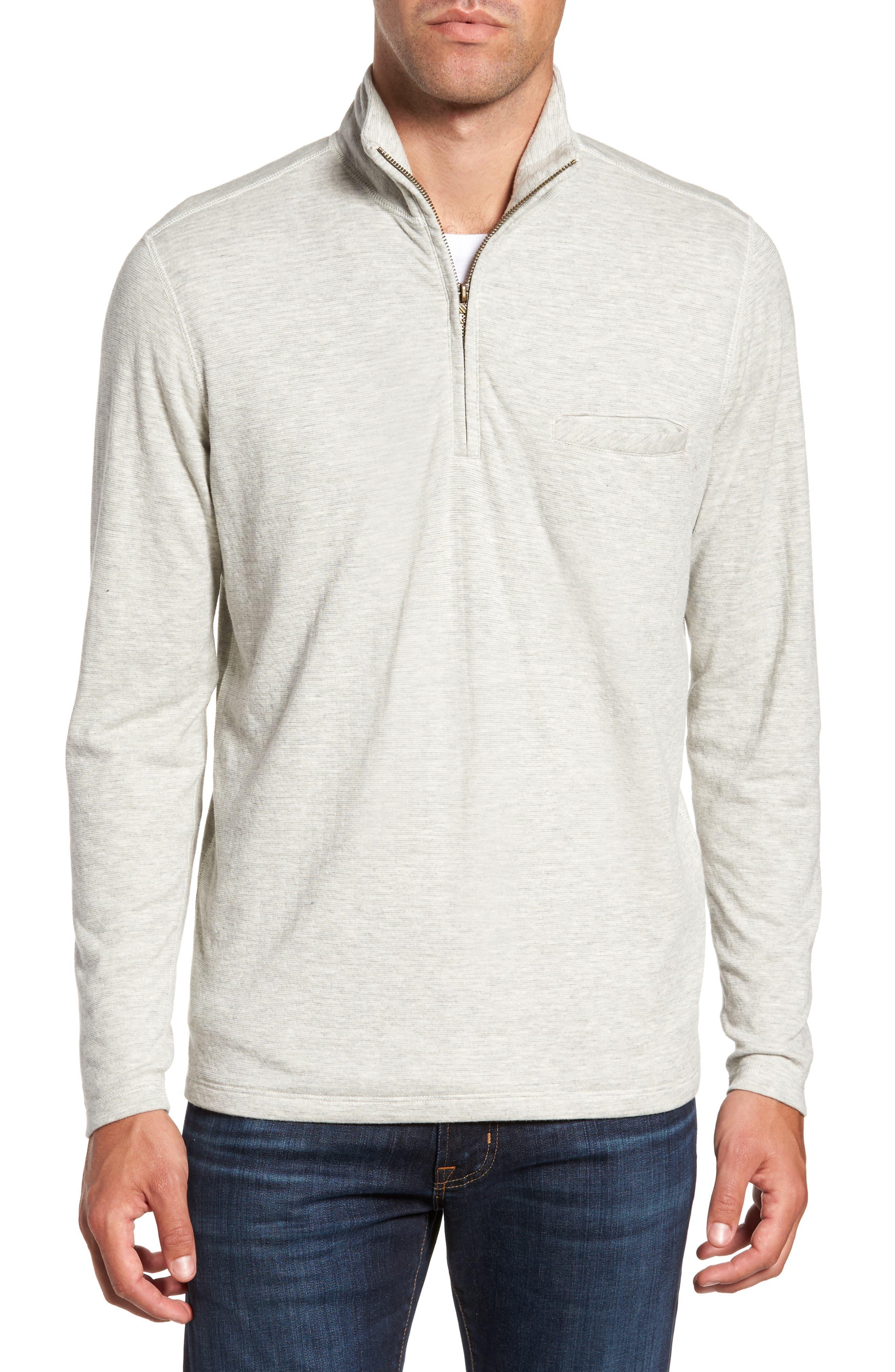 Main Image - Billy Reid Jordan Quarter Zip Pullover