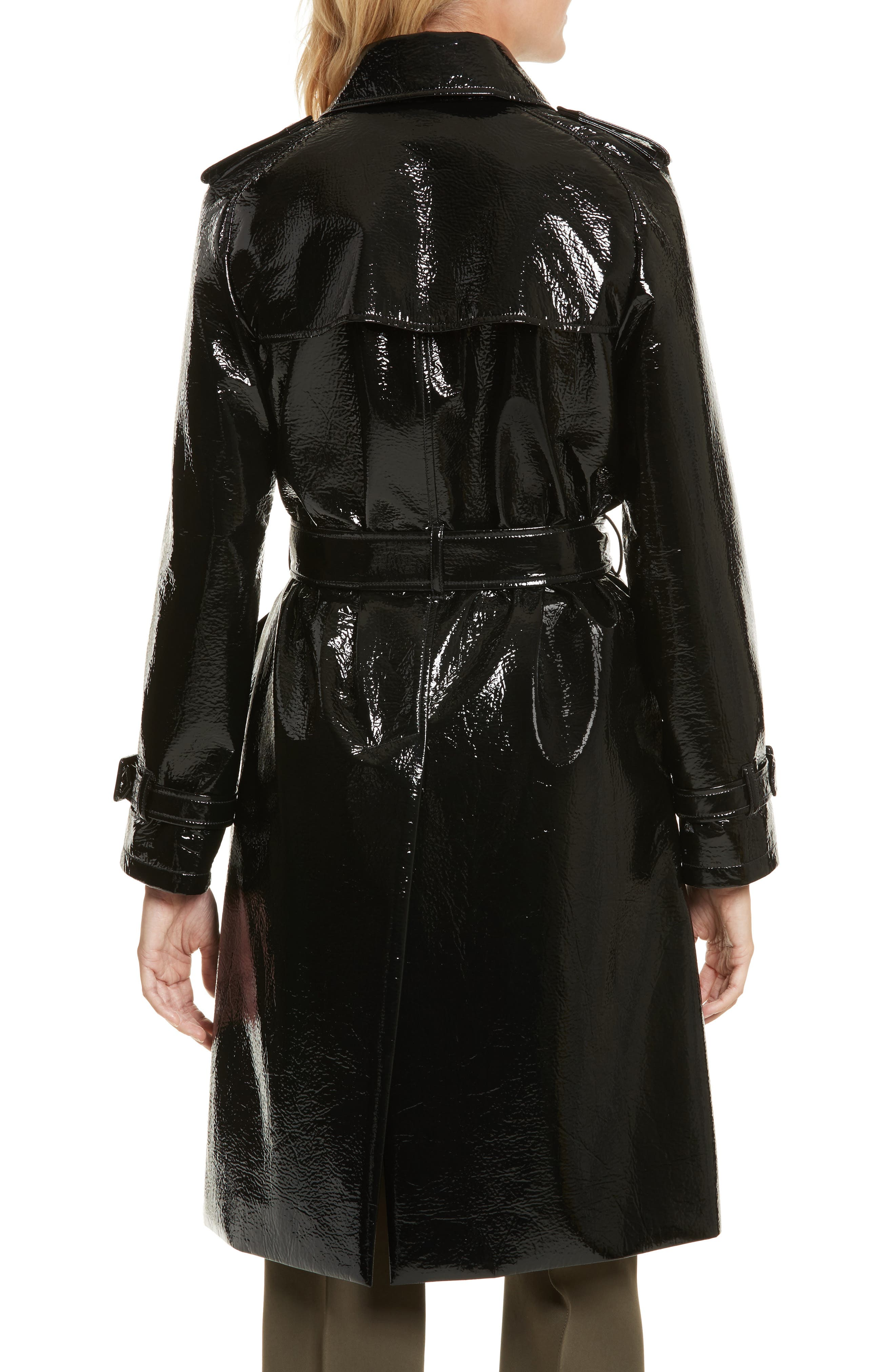 Alternate Image 2  - Diane von Furstenberg Patent Trench Coat