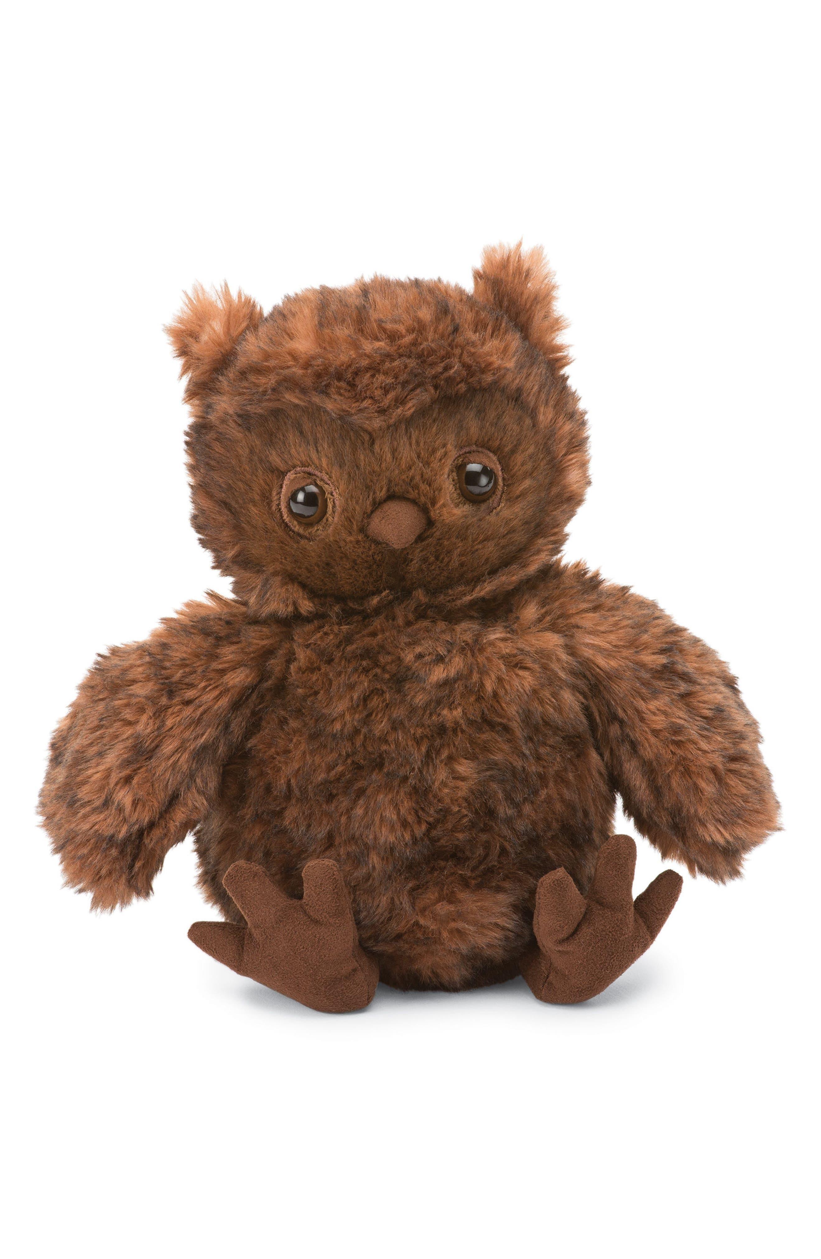 Cornelius the Owl Stuffed Animal,                             Main thumbnail 1, color,                             Brown