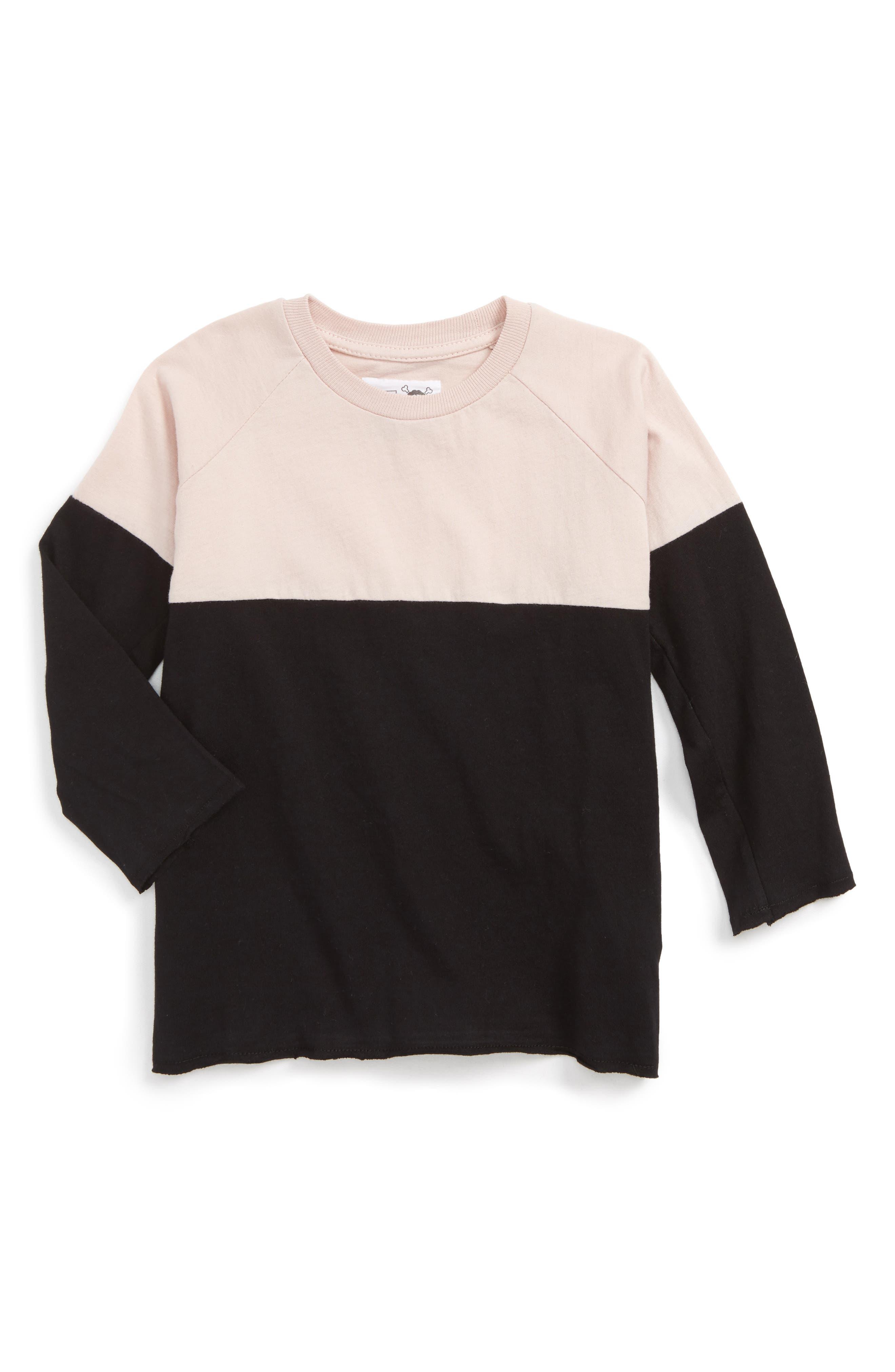 NUNUNU Color Block Shirt