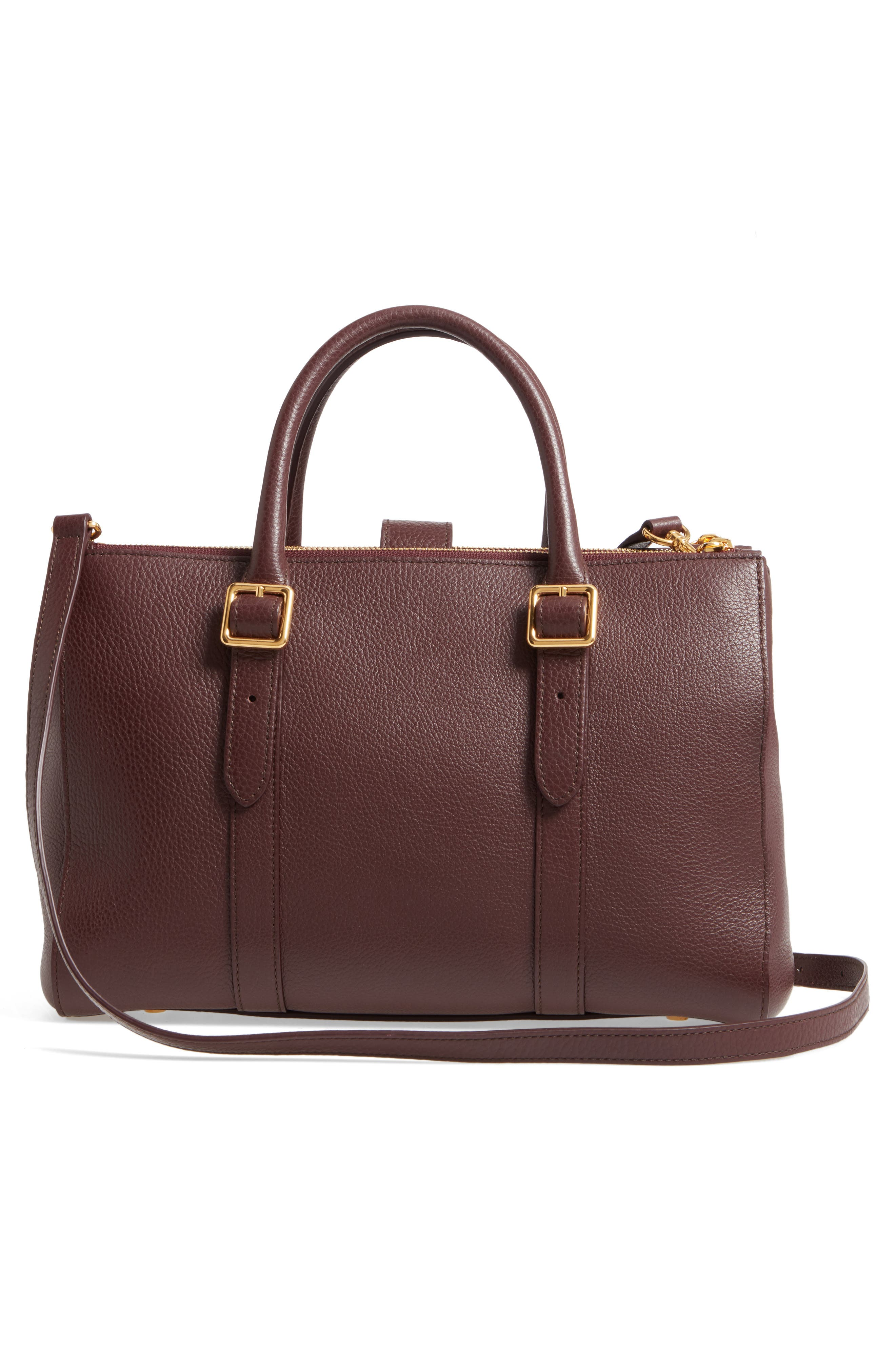 Alternate Image 2  - Mulberry Small Bayswater Double Zip Leather Satchel