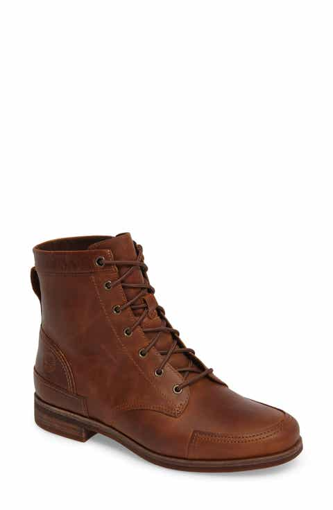 brown timberland boots womens