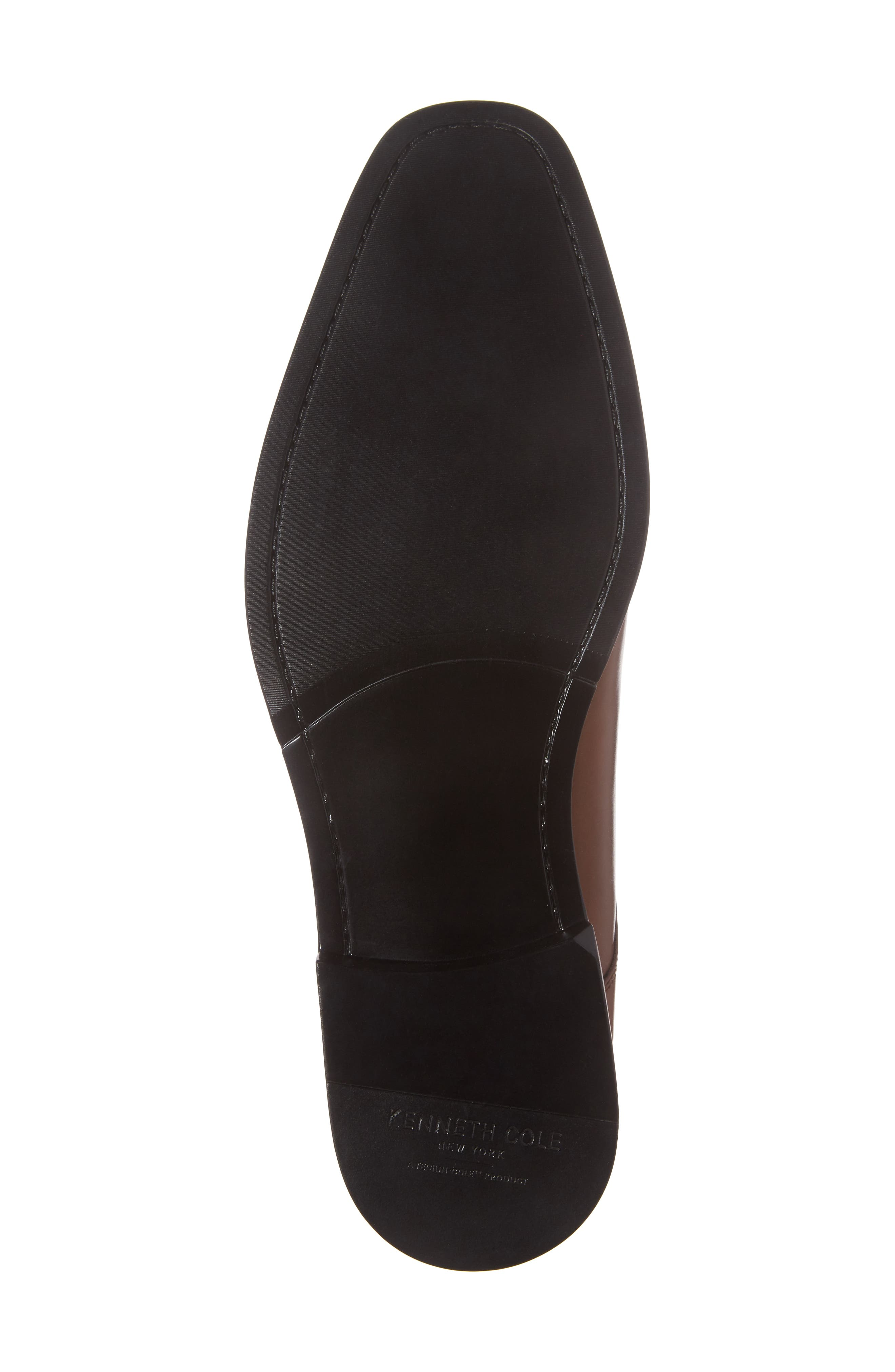 Apron Toe Derby,                             Alternate thumbnail 6, color,                             Brandy Leather