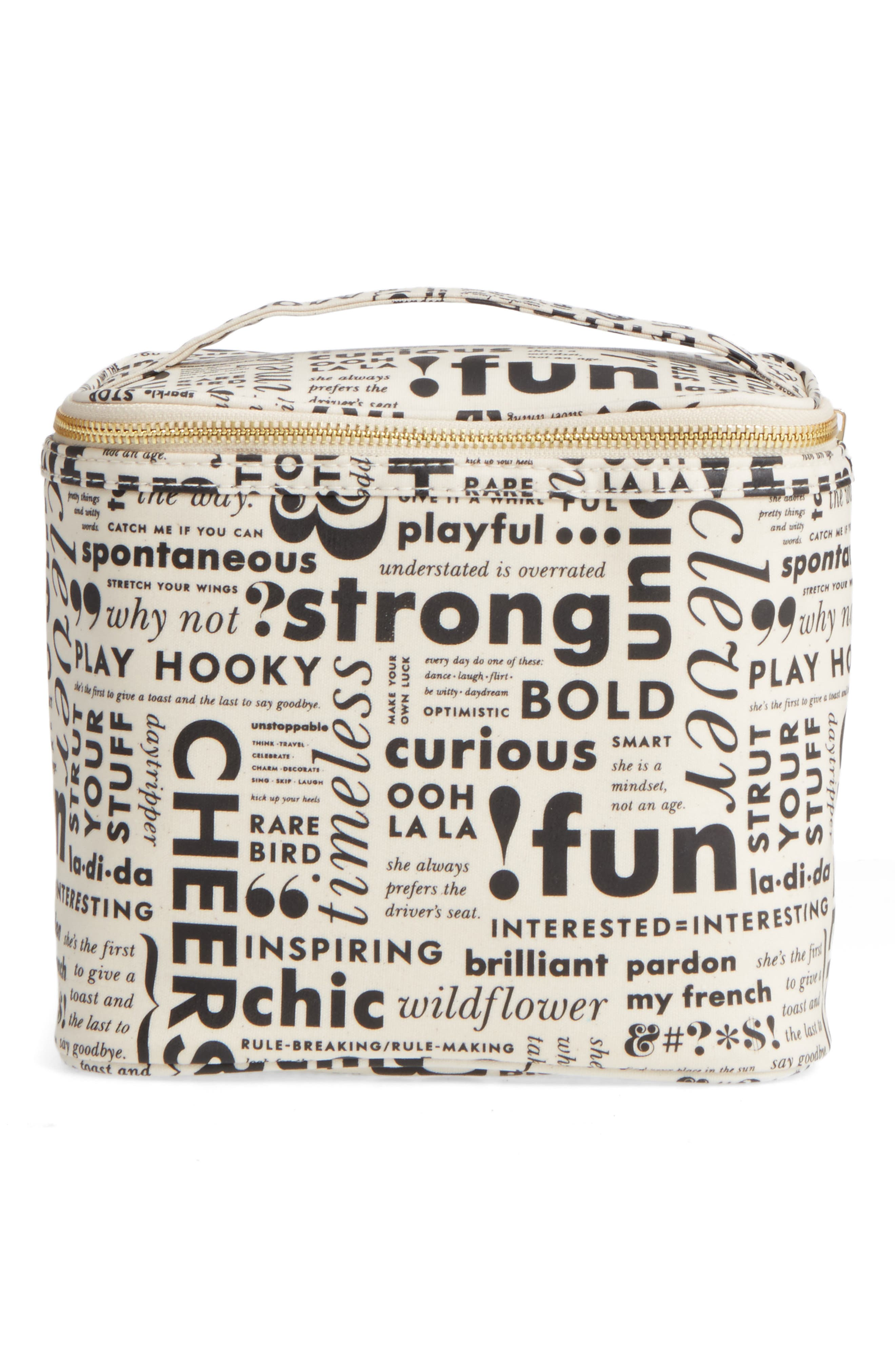 kate spade new york what do you say lunch tote