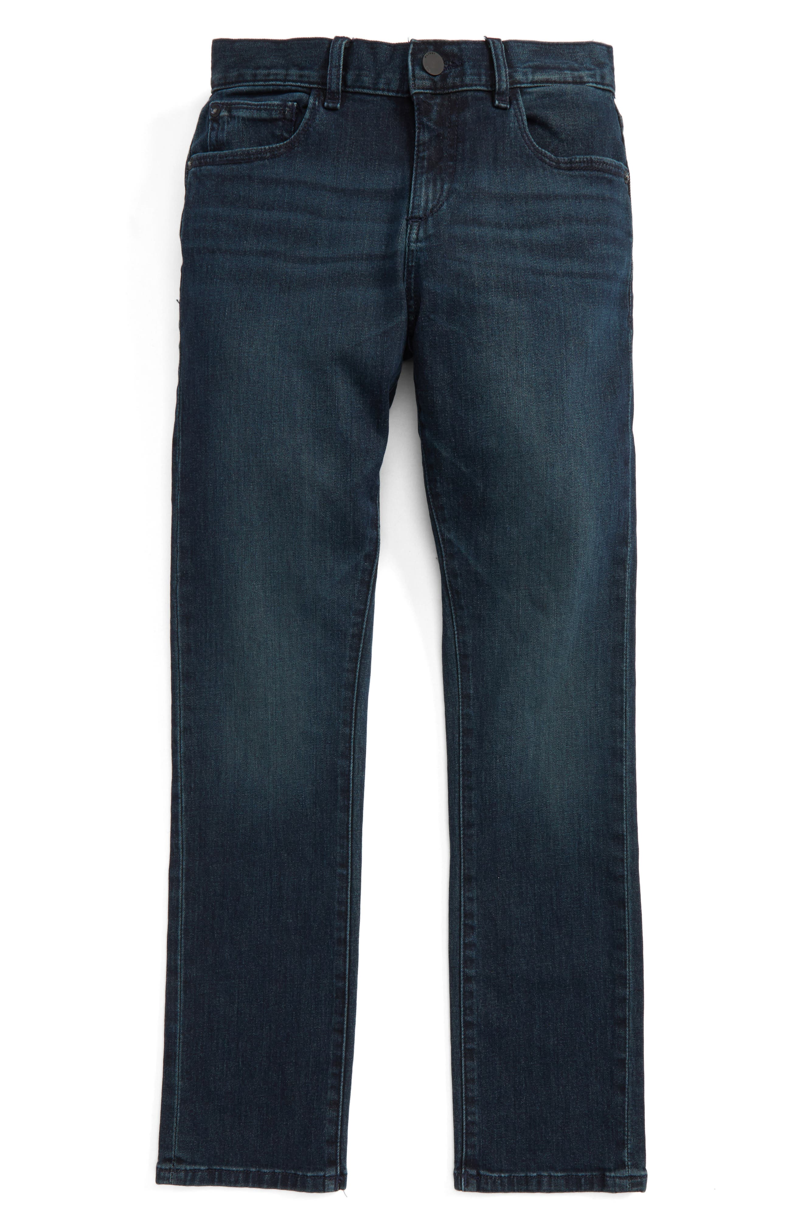 Alternate Image 1 Selected - DL1961 Brady Slim Fit Jeans (Big Boys)