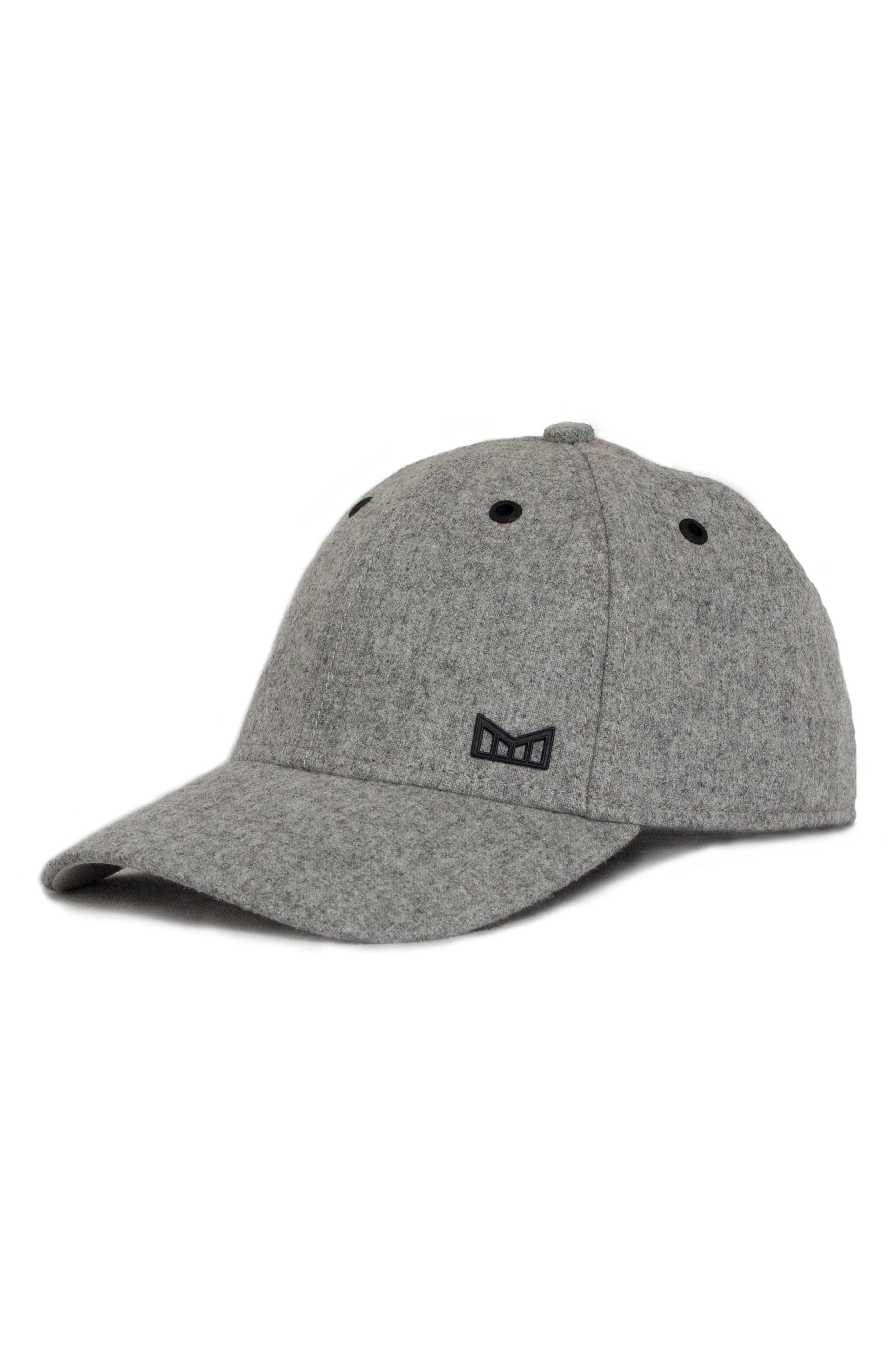 'Glory Days' Strapback Baseball Cap,                         Main,                         color, Gray