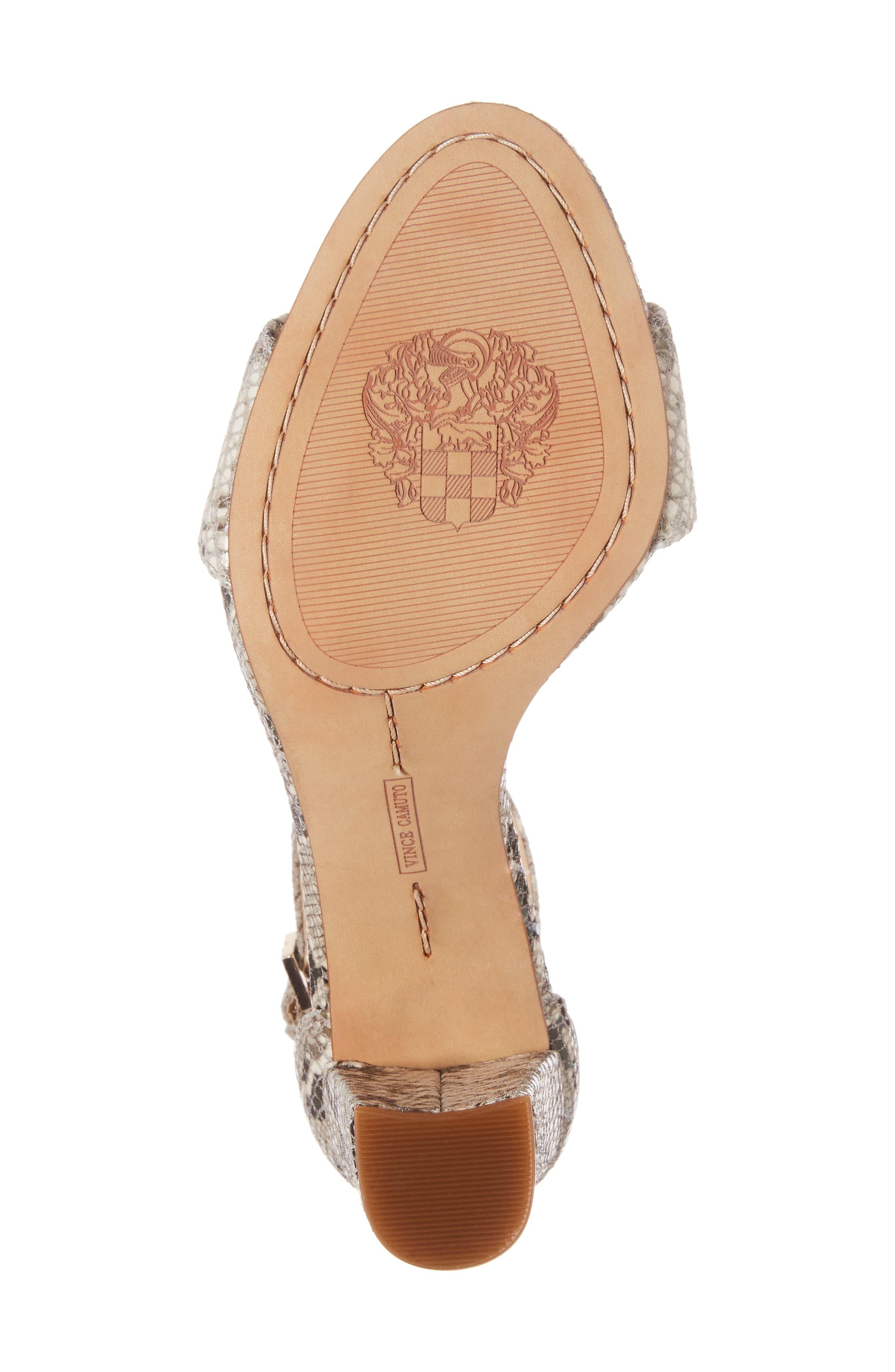 Alternate Image 6  - Vince Camuto Corlina Ankle Strap Sandal (Women) (Nordstrom Exclusive)
