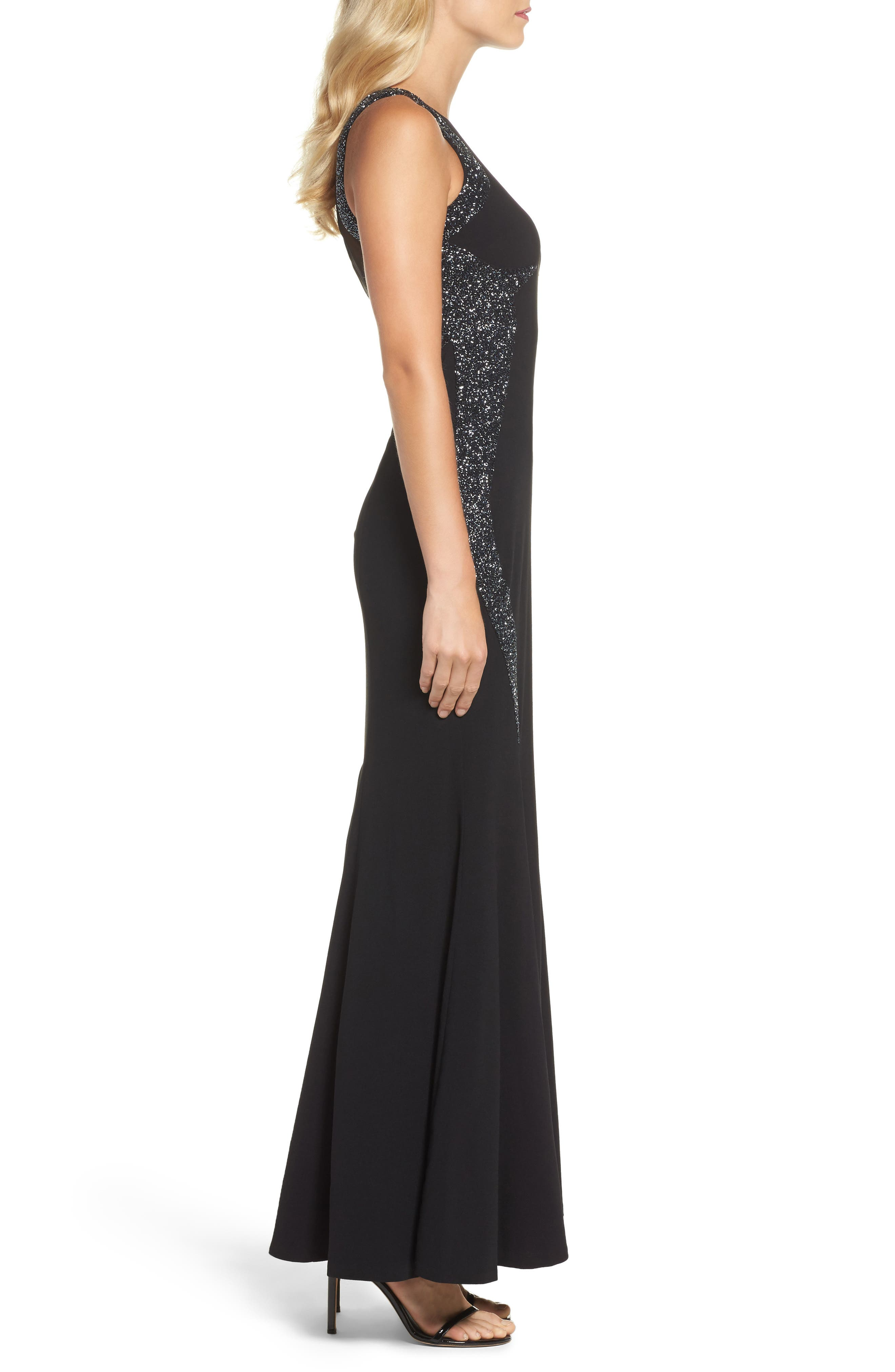 Alternate Image 3  - Adrianna Papell Embellished Gown