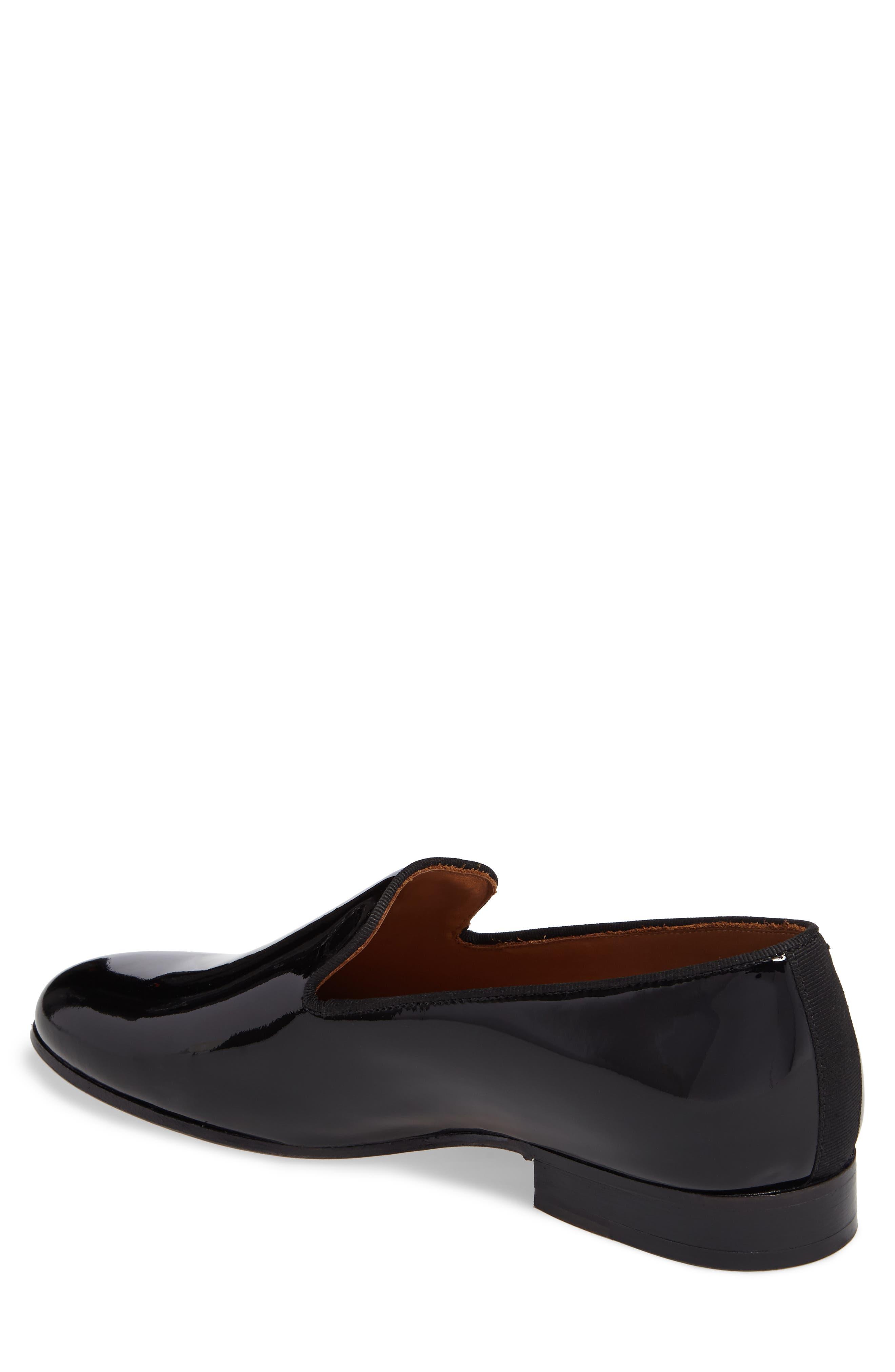 Bravi Loafer,                             Alternate thumbnail 2, color,                             Black Patent Leather