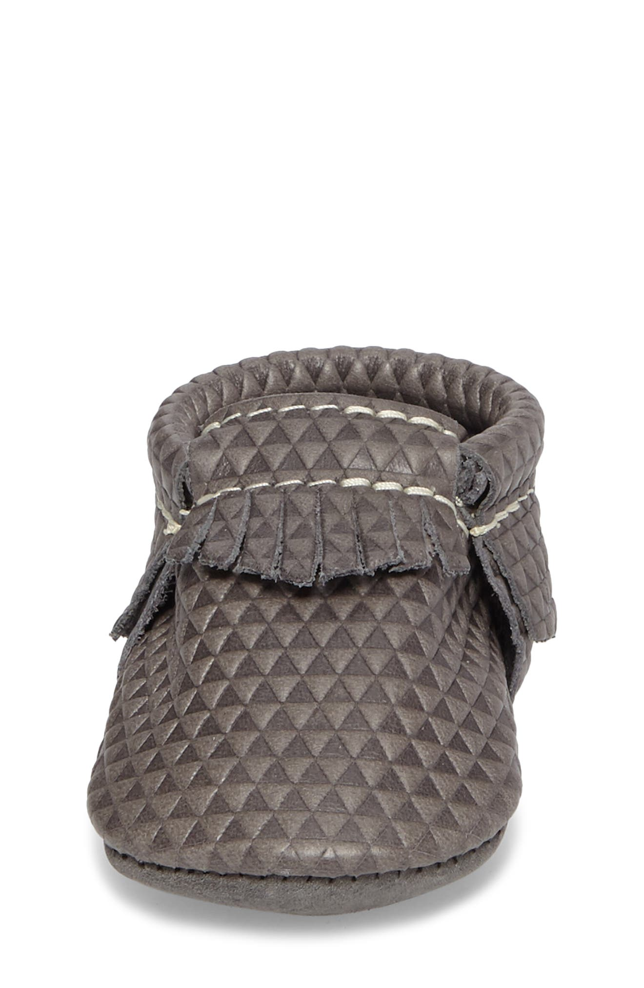 Triangles Print Moccasin,                             Alternate thumbnail 4, color,                             Triangles