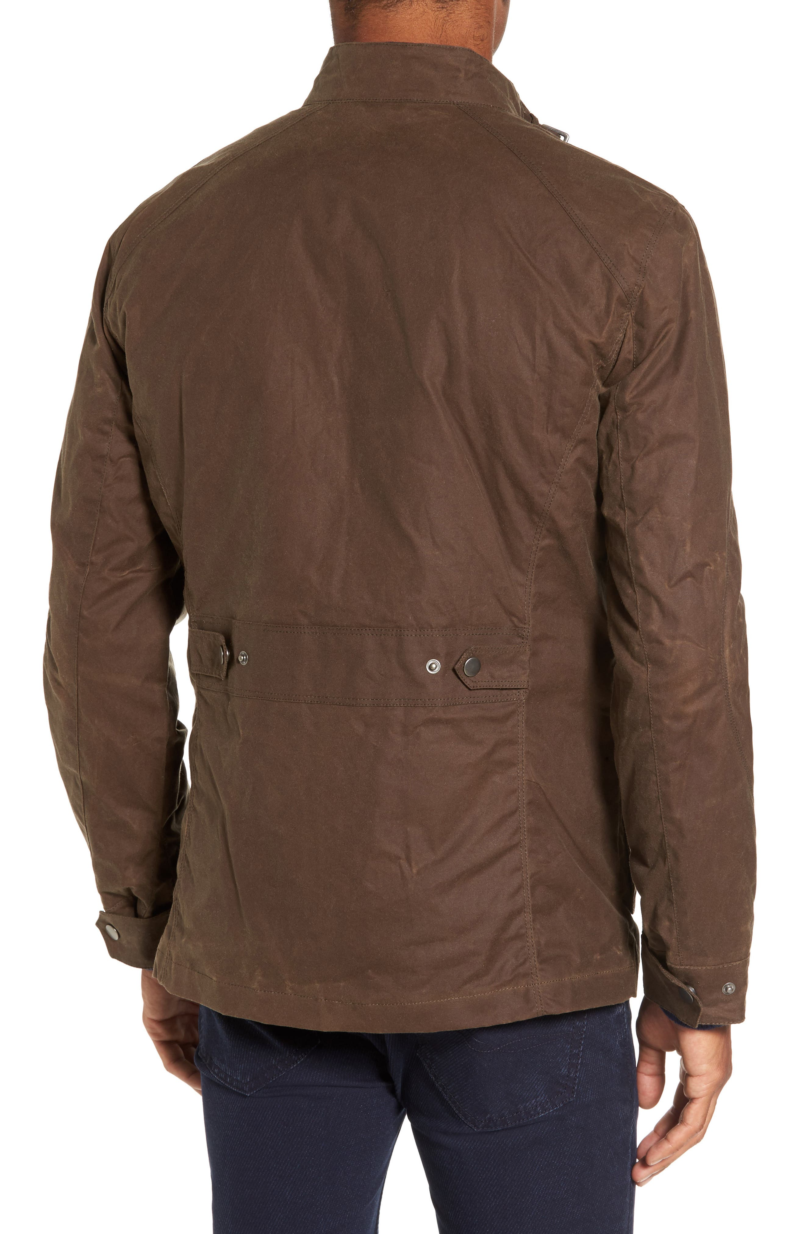 Alternate Image 2  - W.R.K 3-in-1 Waxed Cotton Jacket with Removable Vest