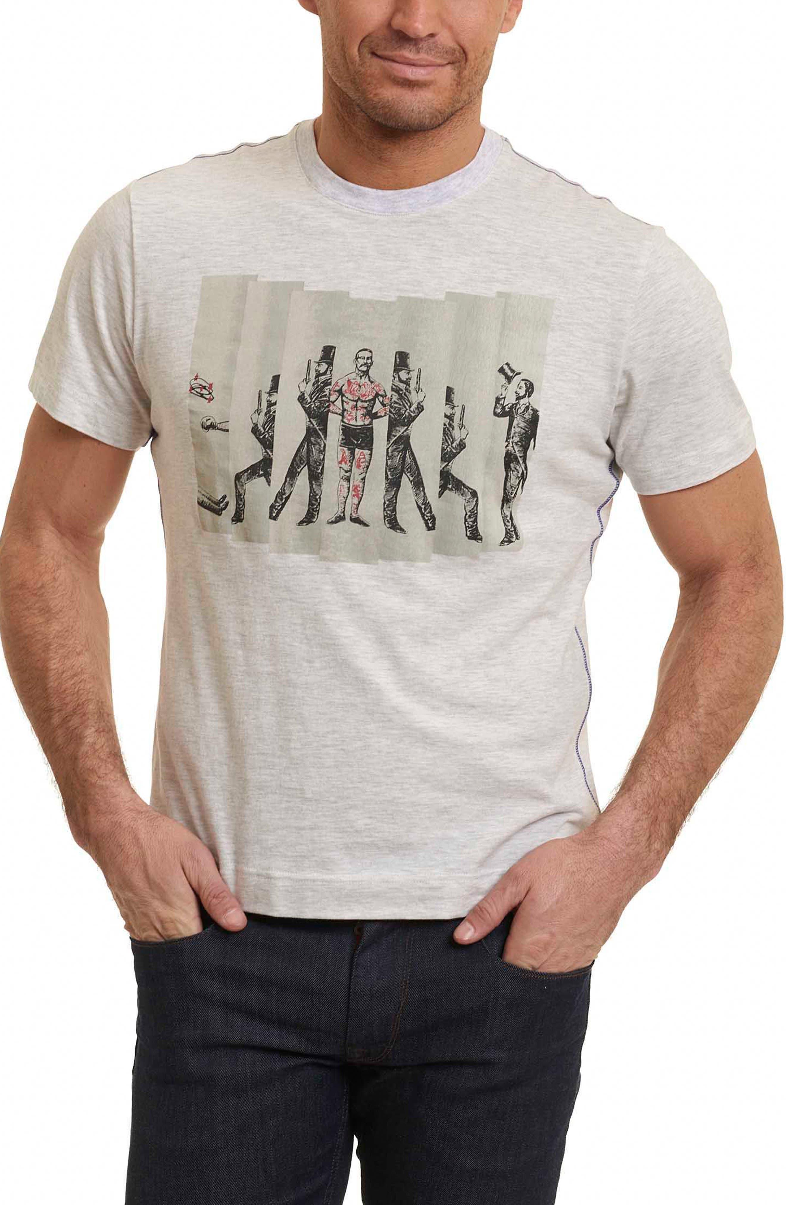 Guns Ready T-Shirt,                         Main,                         color, Oatmeal