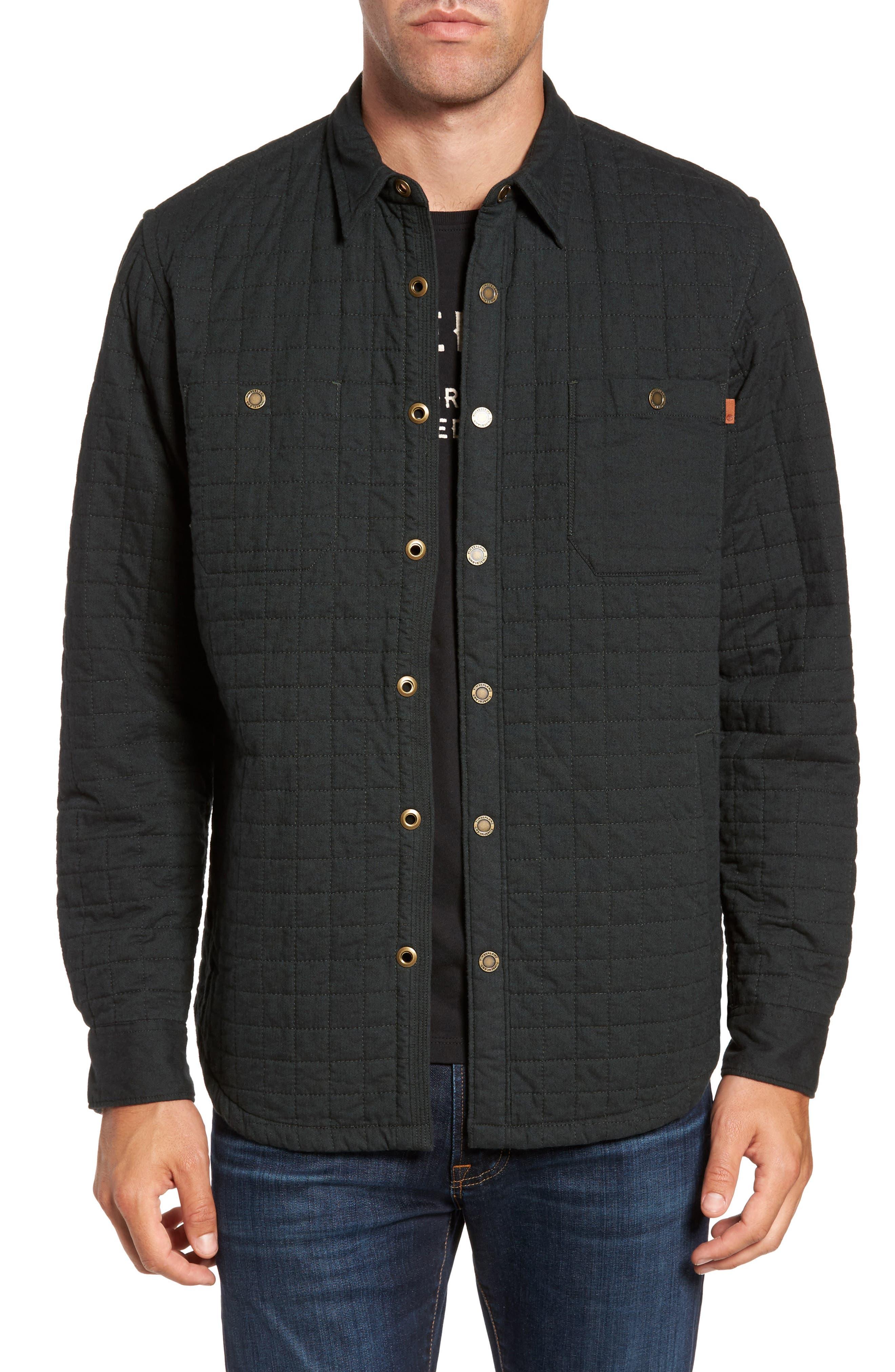 Timberland Gunstock River Lightweight Quilted Shirt Jacket