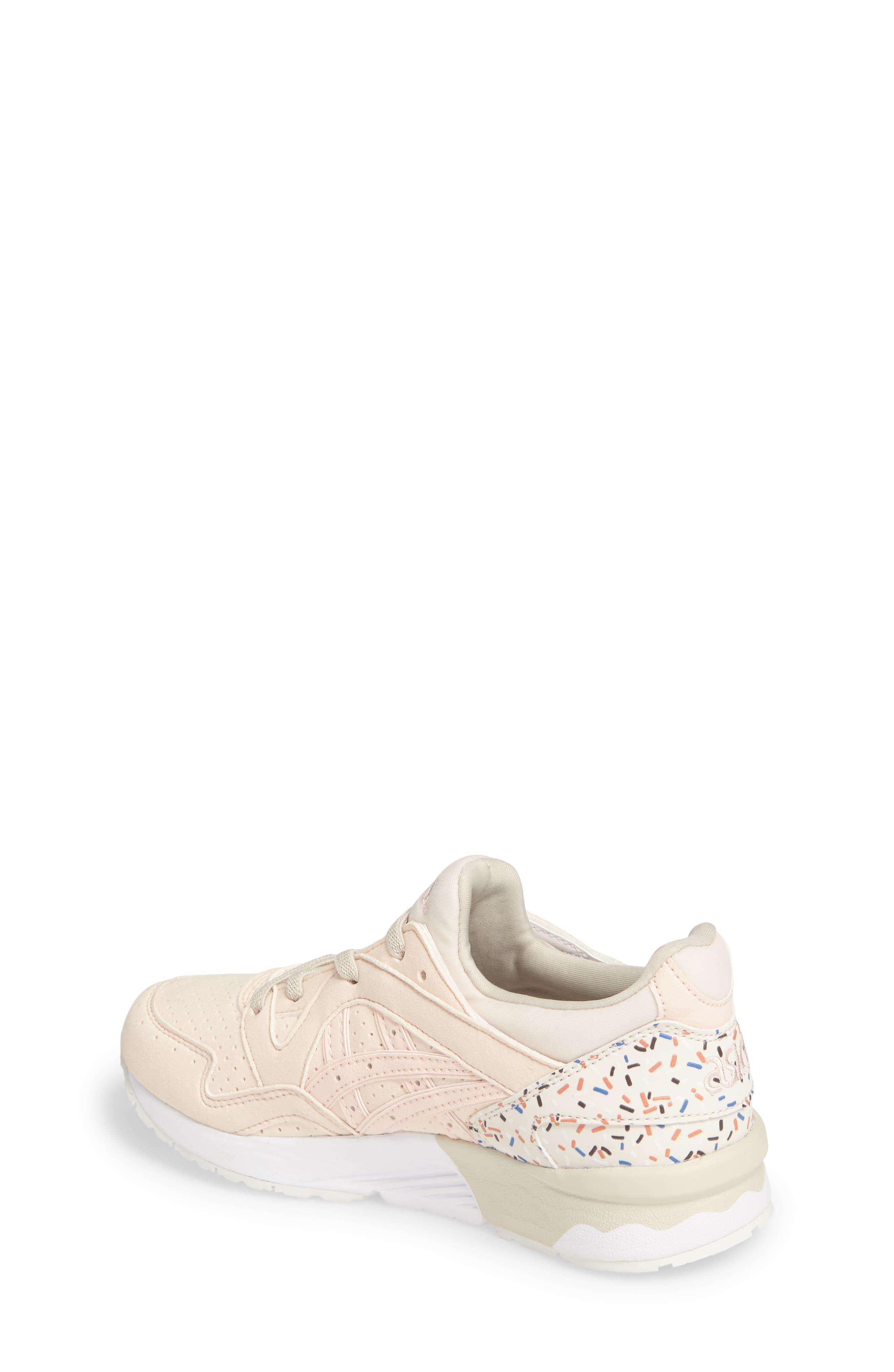 GEL-Lyte V Sneaker,                             Alternate thumbnail 2, color,                             Vanilla Cream/ Vanilla Cream