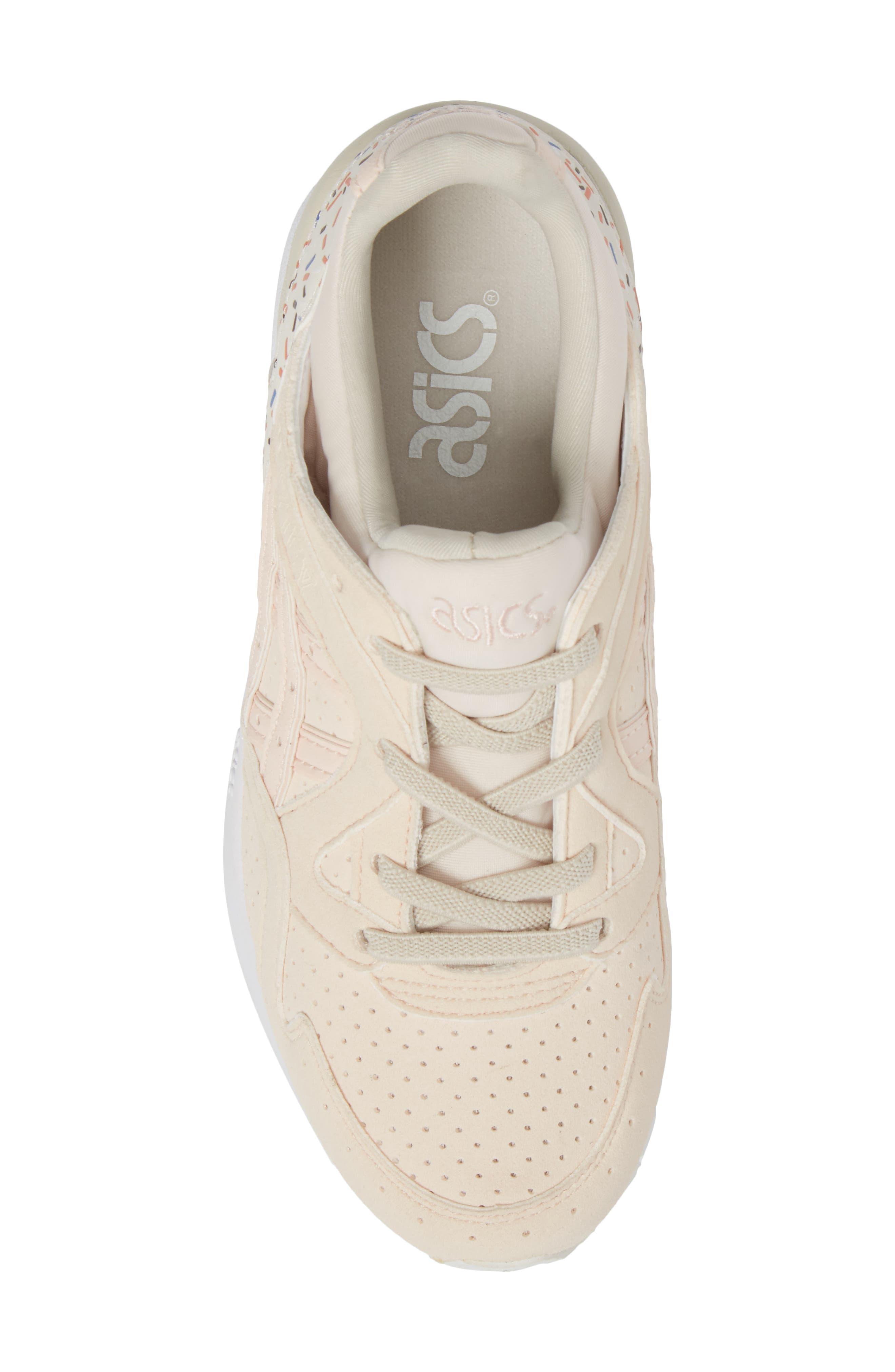 GEL-Lyte V Sneaker,                             Alternate thumbnail 5, color,                             Vanilla Cream/ Vanilla Cream