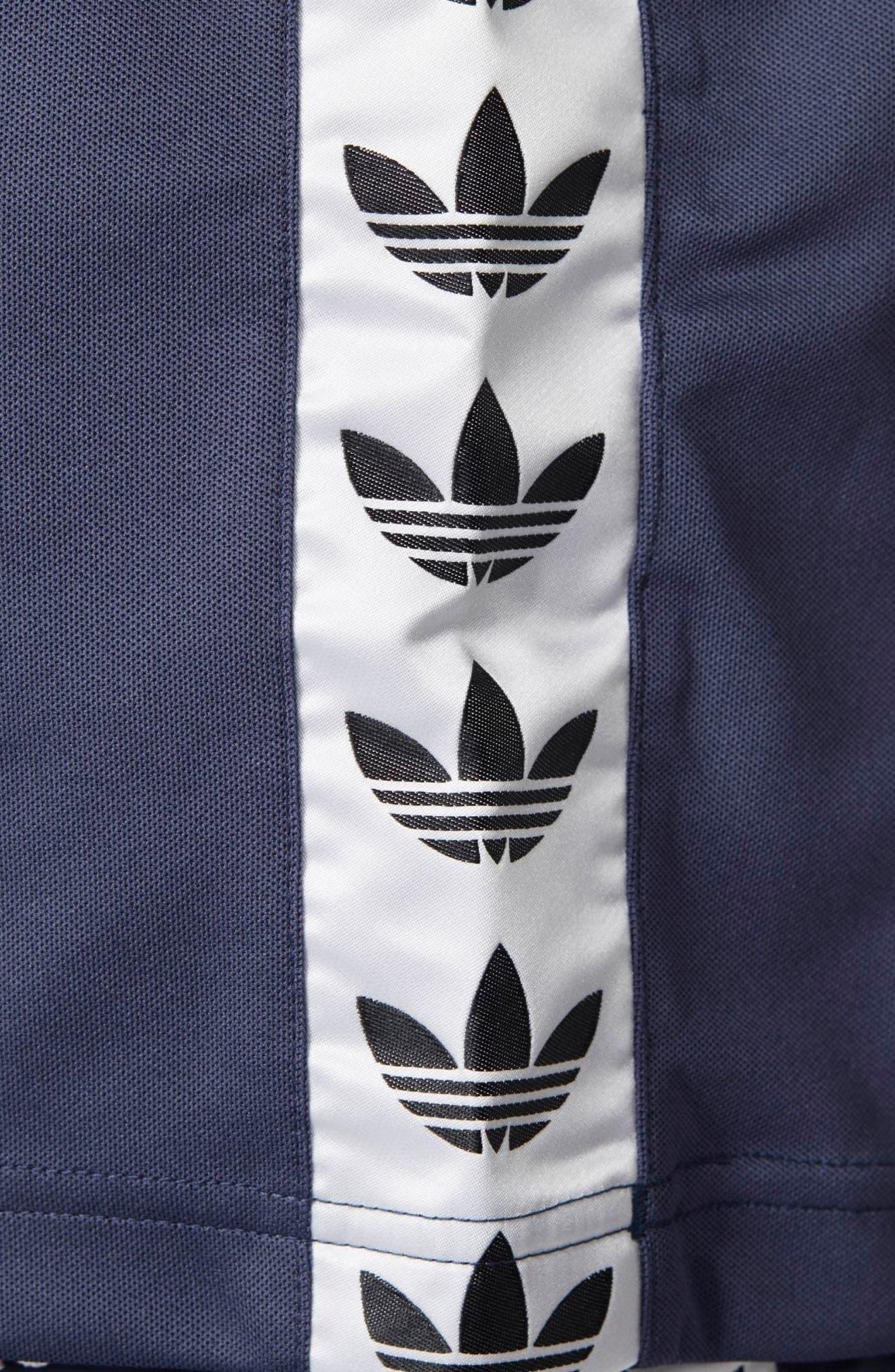 TNT Tape T-Shirt,                             Alternate thumbnail 4, color,                             Trace Blue/ White