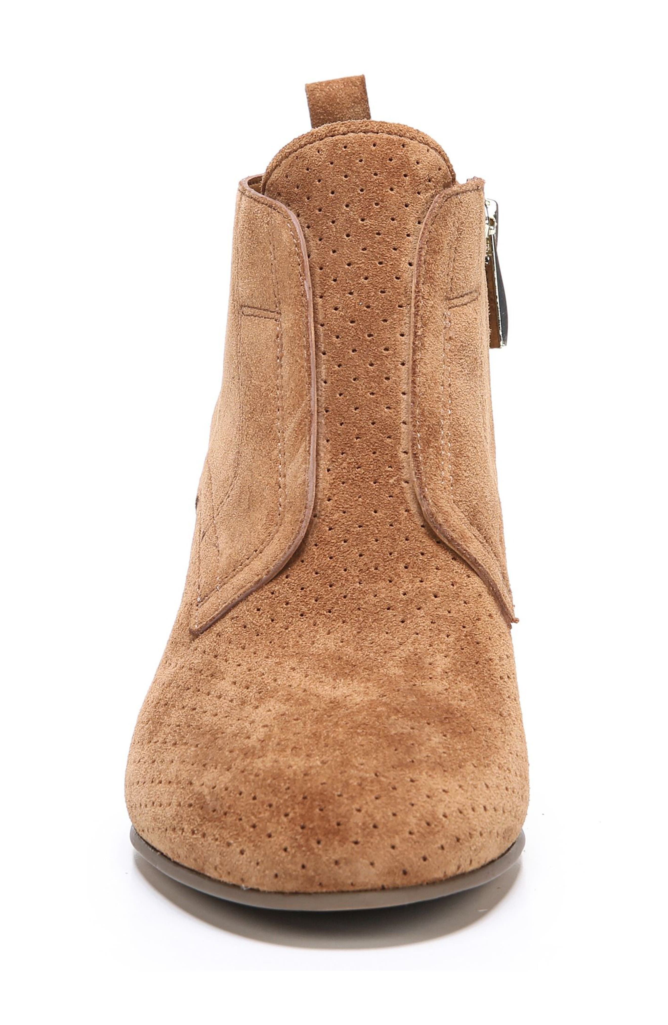 Alfie Bootie,                             Alternate thumbnail 4, color,                             Whiskey Suede