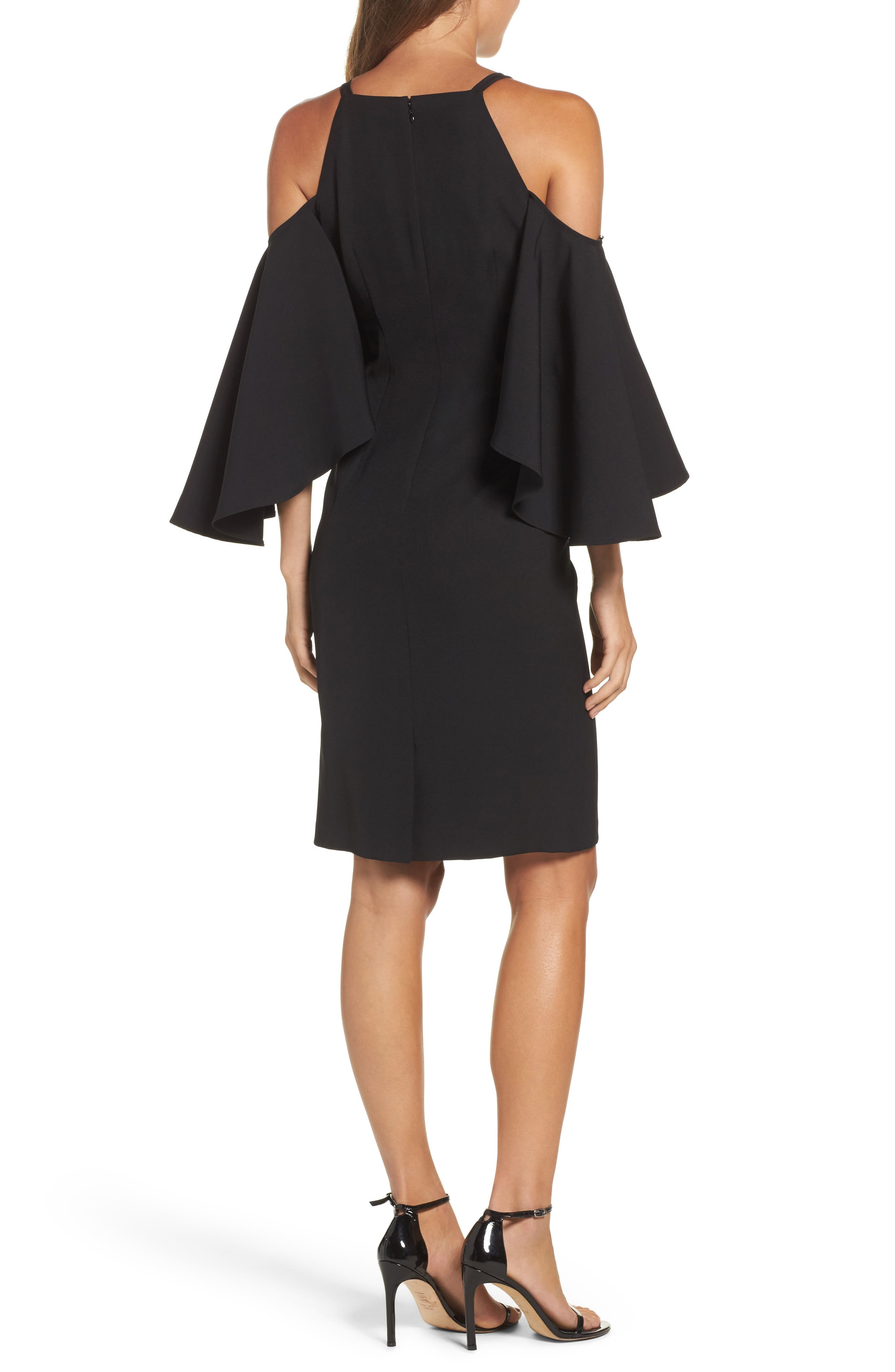 Alternate Image 2  - Vince Camuto Laguna Cold Shoulder Sheath Dress