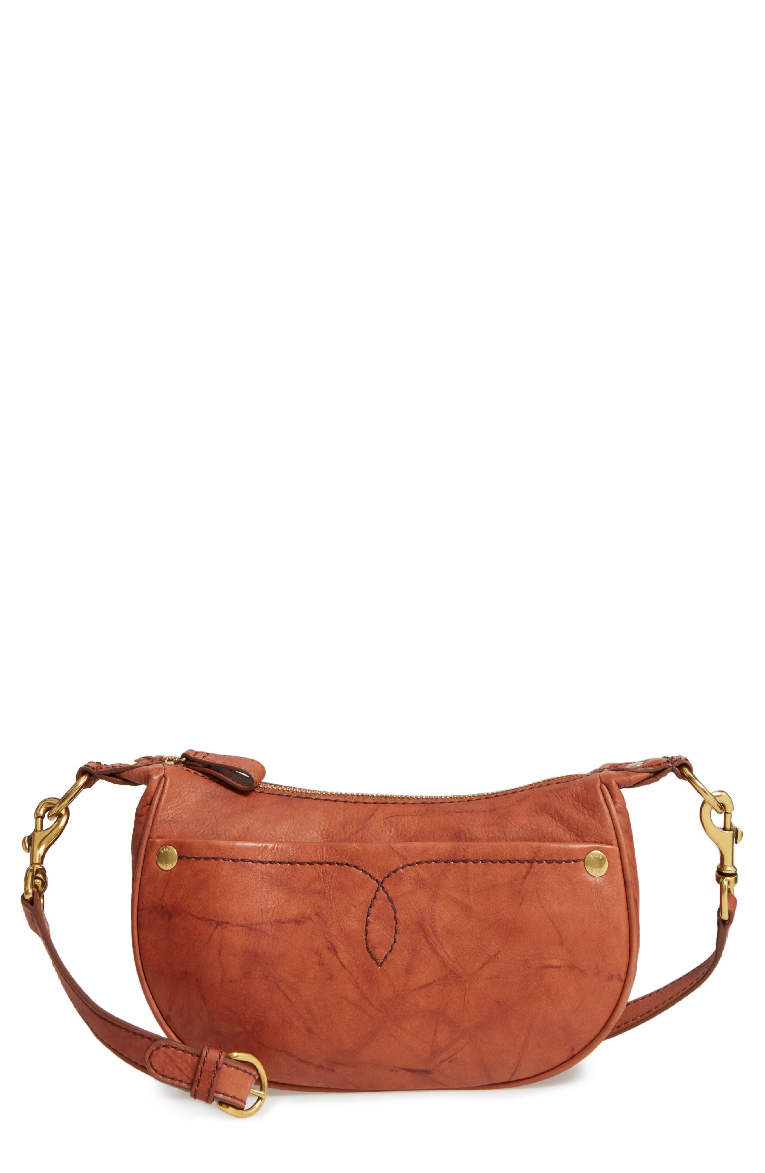 Frye Small Campus Leather Crossbody Bag