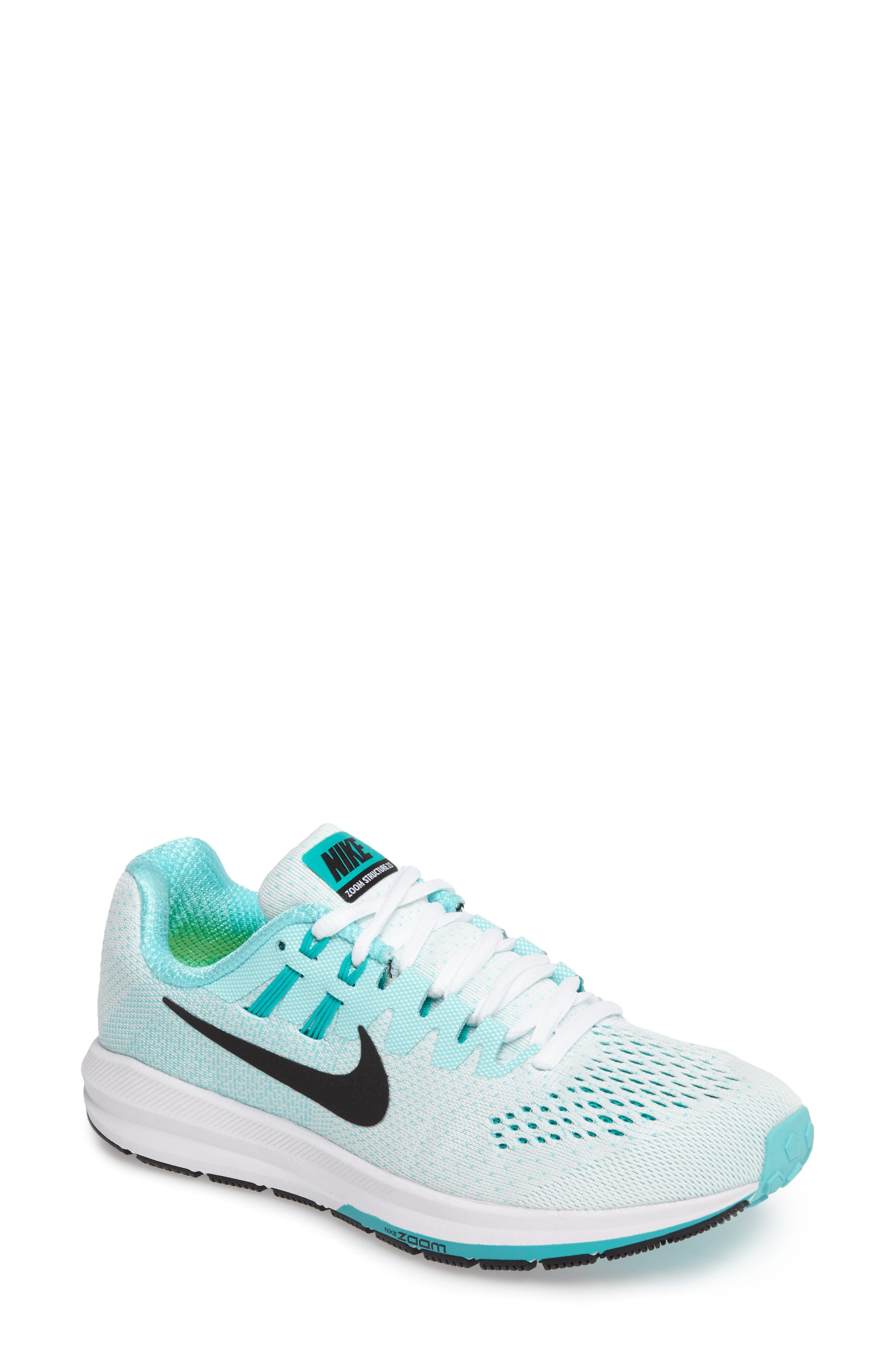 Alternate Image 1 Selected - Nike Air Zoom Structure 20 Running Shoe (Women)