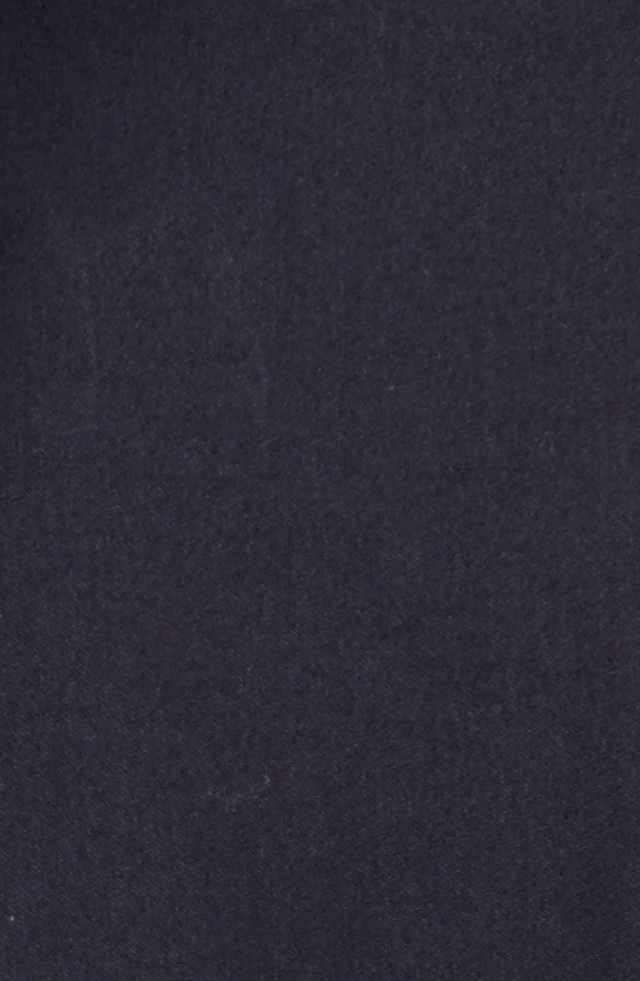 Gabrina Fit & Flare Dress,                             Alternate thumbnail 5, color,                             Navy