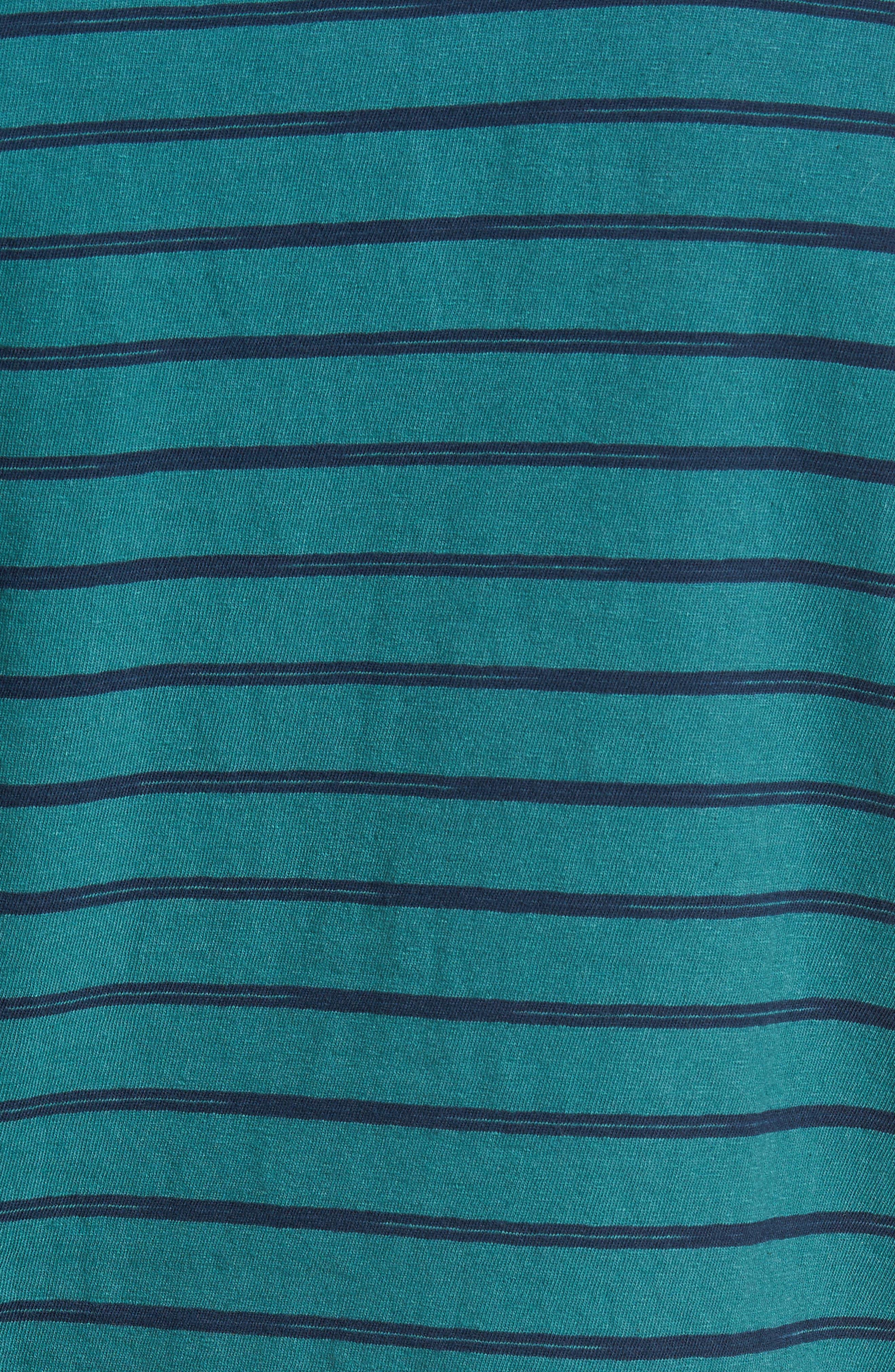Alternate Image 5  - Sol Angeles Vintage Stripe Pocket T-Shirt