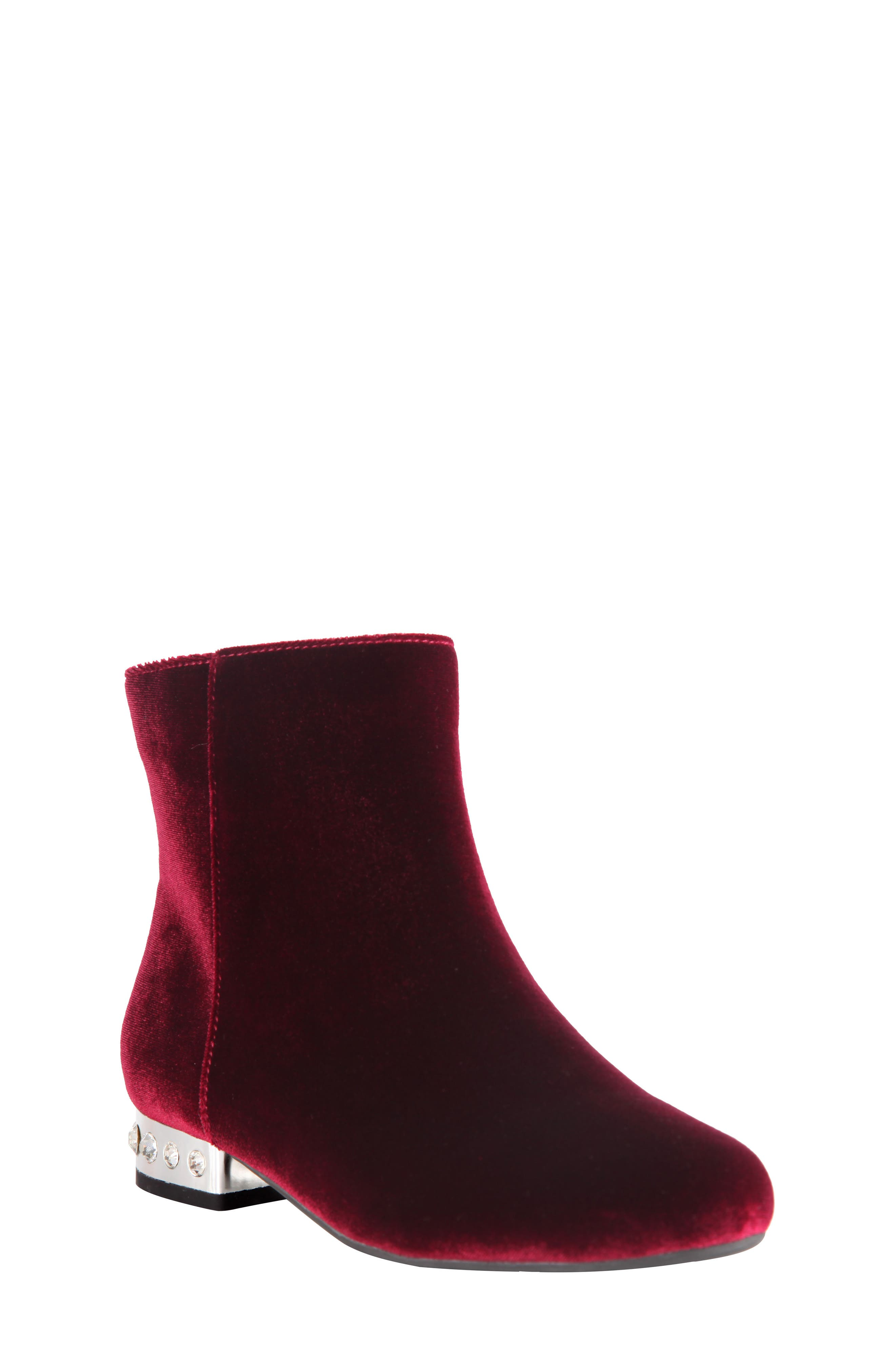Nina Zenaida Embellished Bootie (Little Kid & Big Kid)