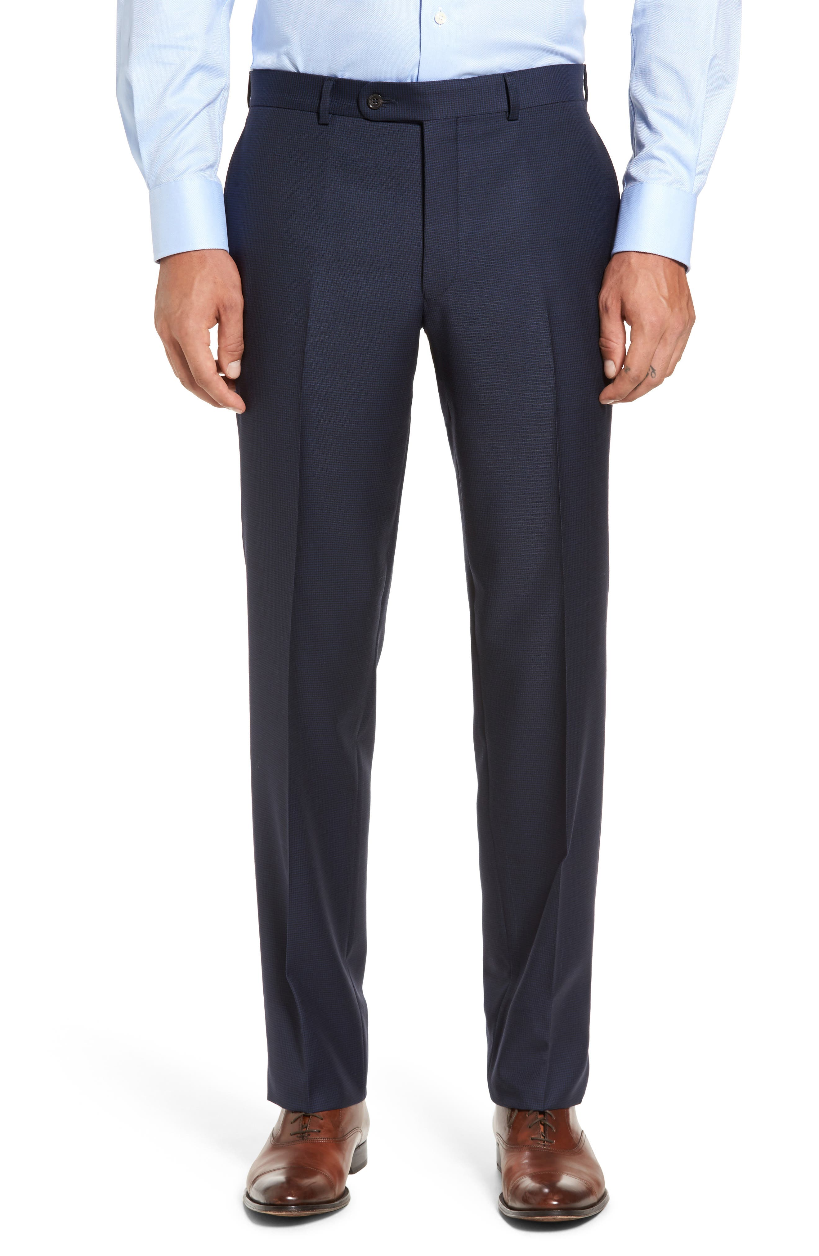 Ryan Classic Fit Wool Suit,                             Alternate thumbnail 6, color,                             Navy