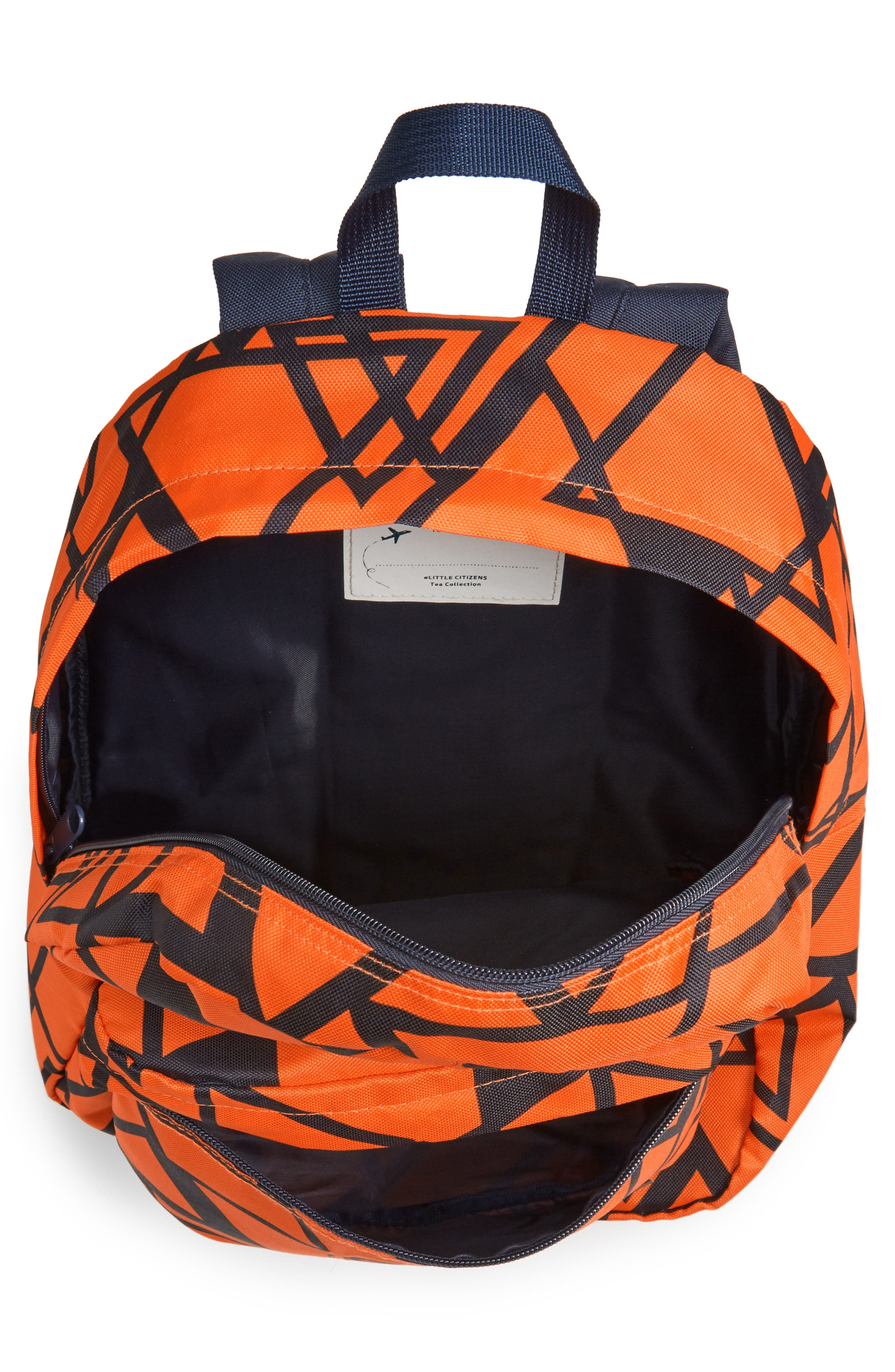 Alternate Image 3  - Tea Collection Scots Triangle Backpack (Kids)