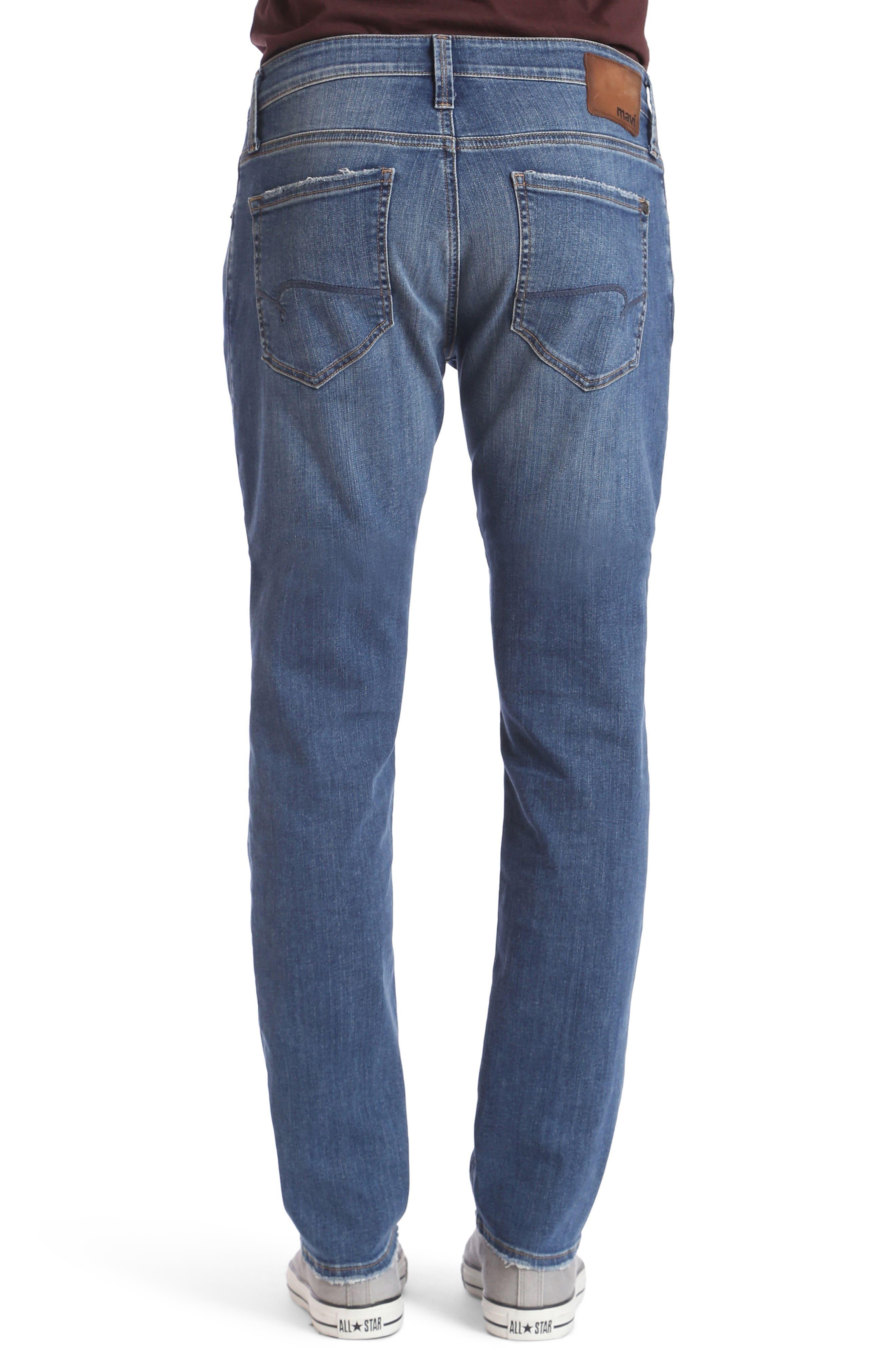 Alternate Image 2  - Mavi Jeans Matt Relaxed Fit Jeans (Mid Clean Comfort)