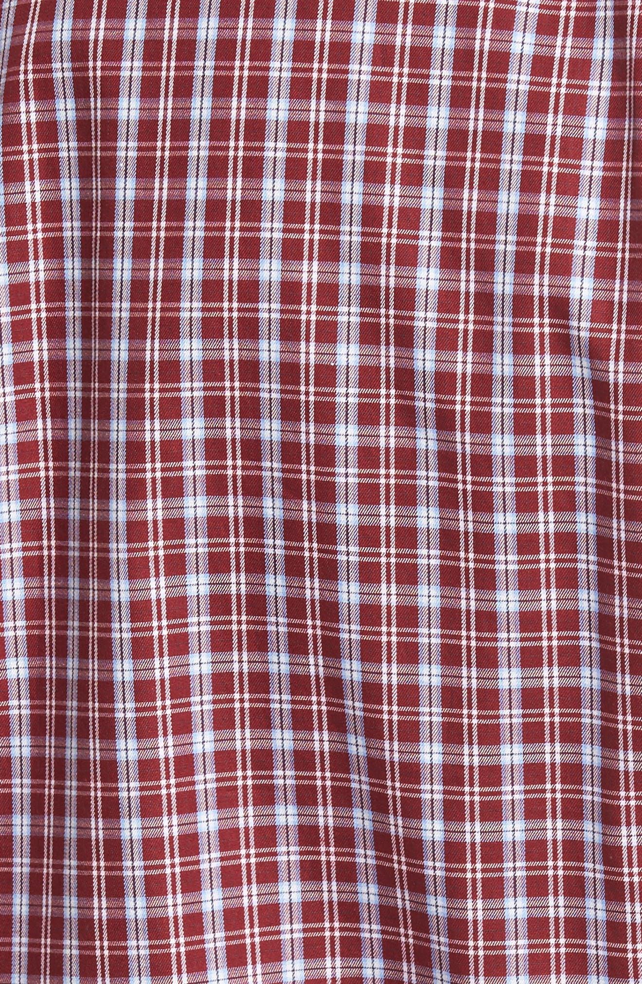 Alternate Image 5  - Peter Millar Isle Check Regular Fit Sport Shirt