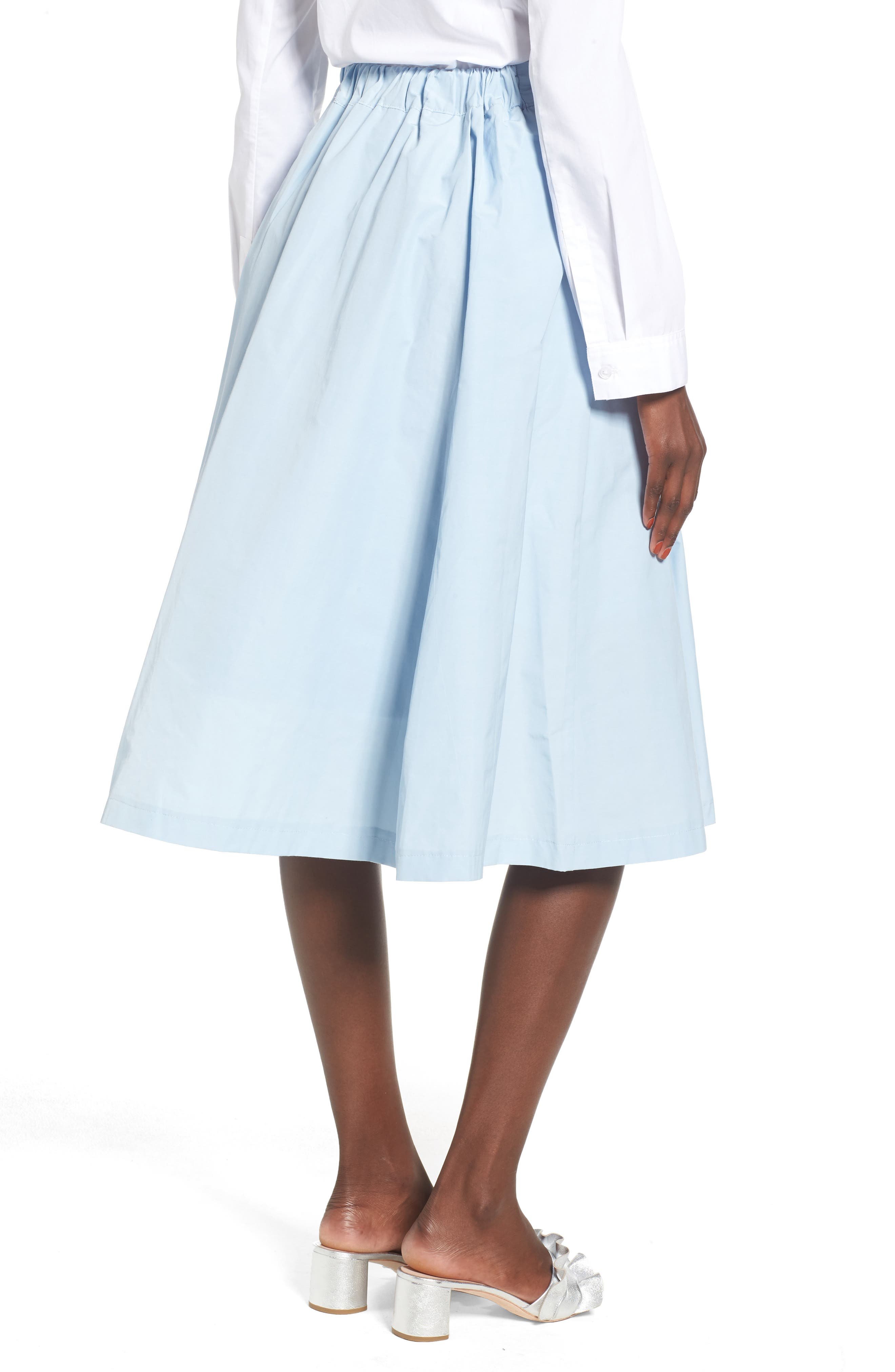 Alternate Image 2  - J.O.A. Step Hem Skirt