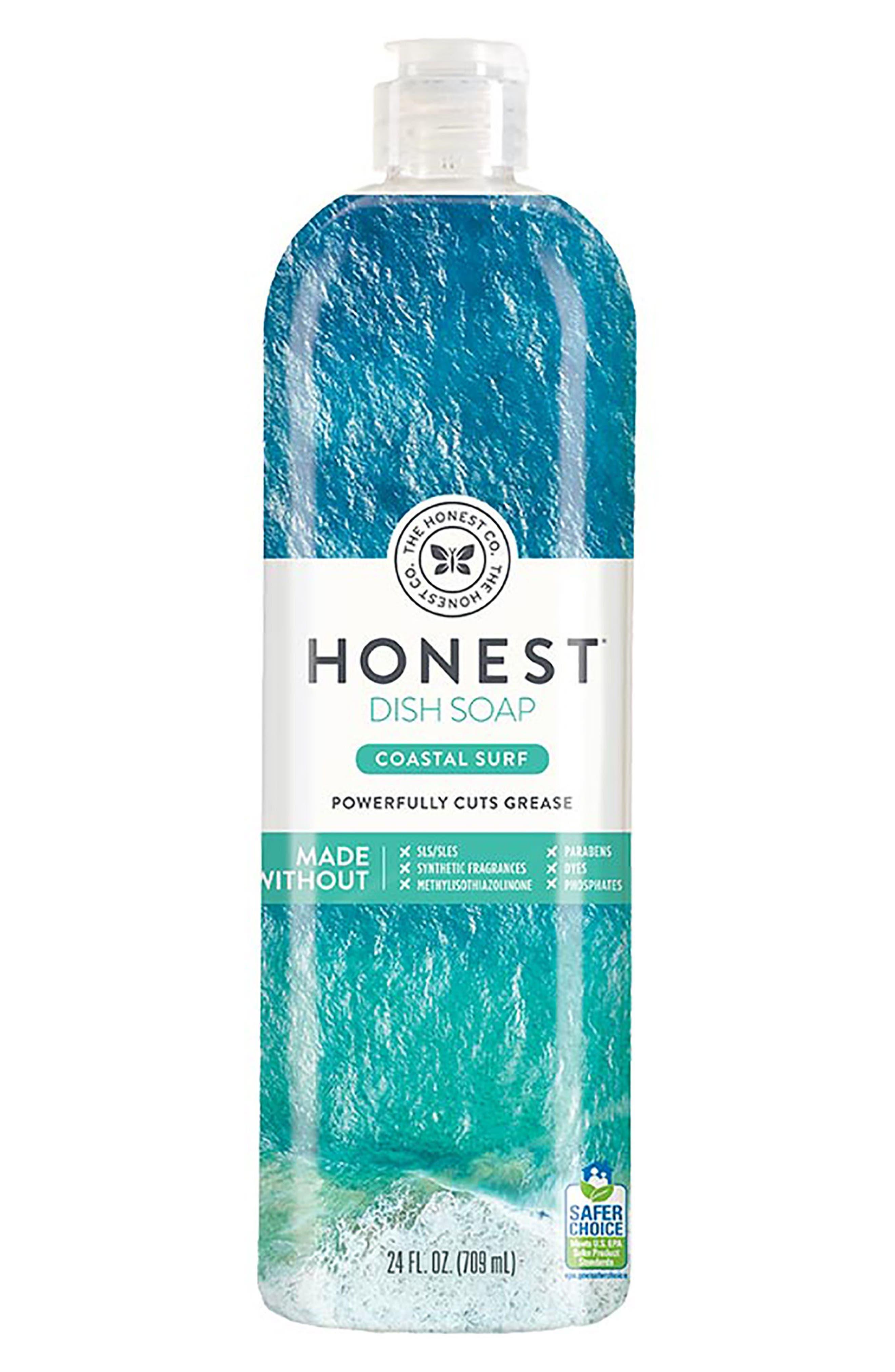 The Honest Company Coastal Surf Dish Soap