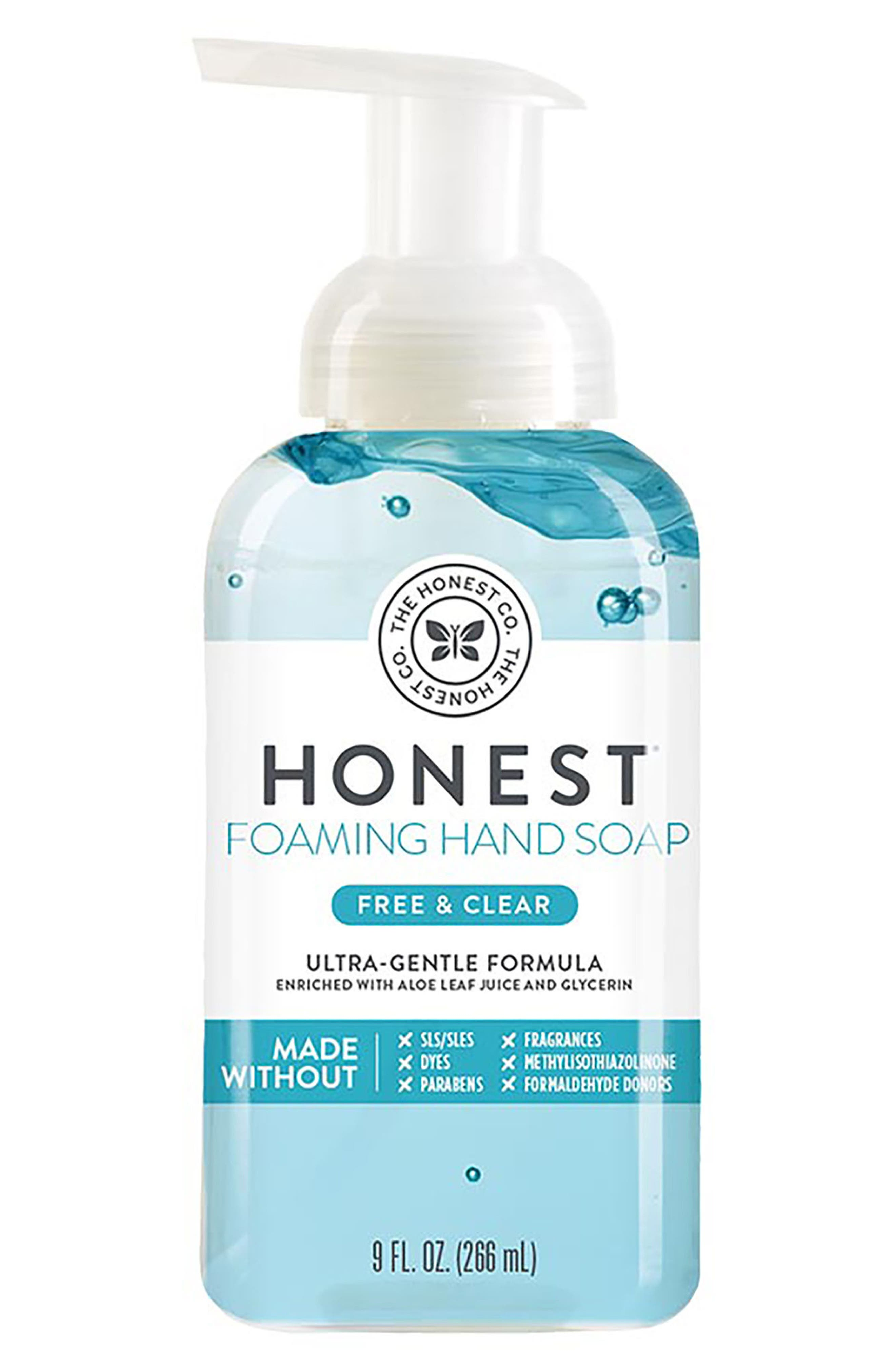 Free & Clear Foaming Hand Soap,                             Main thumbnail 1, color,                             Free/ Clear